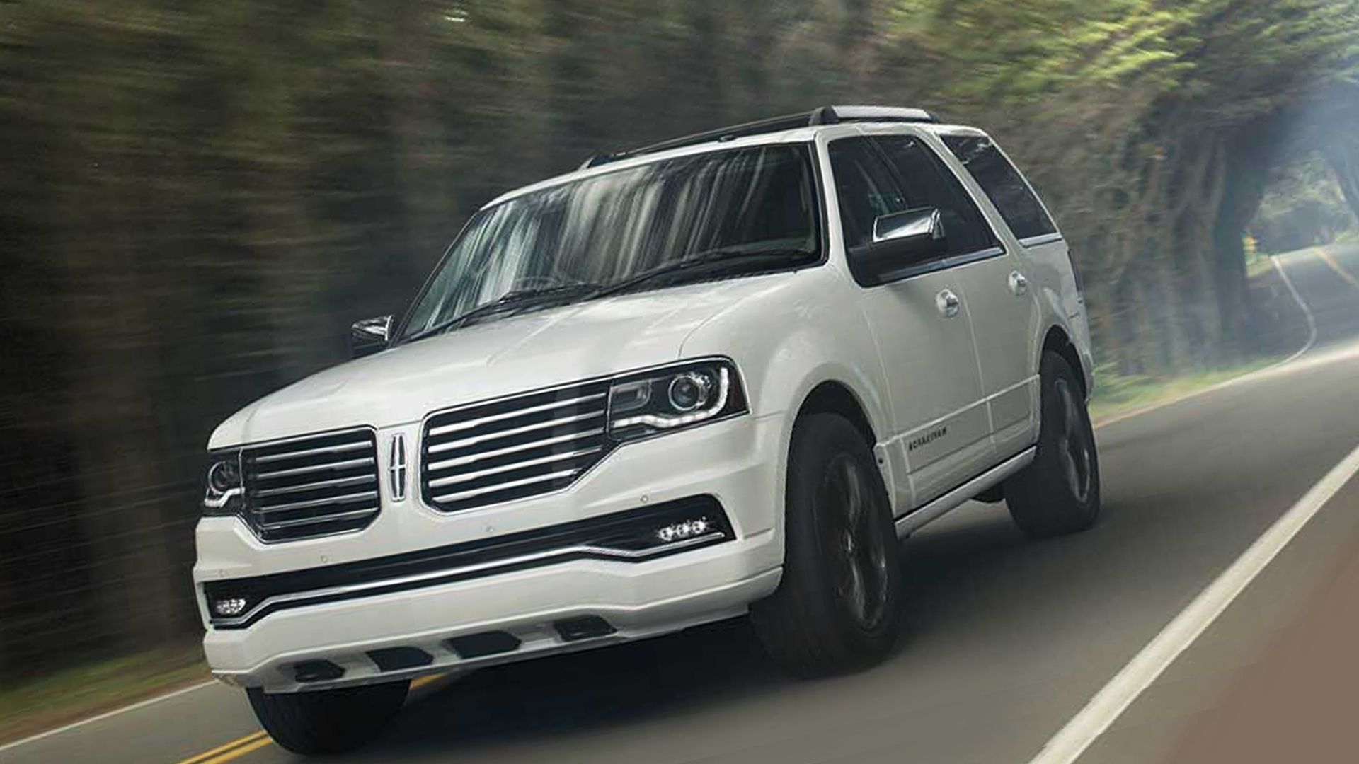 New 2018 Lincoln Navigator Test Drive