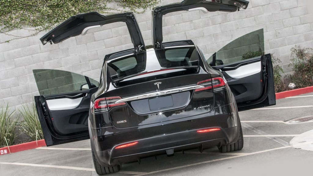 New 2018 Tesla Model X Exterior Redesign