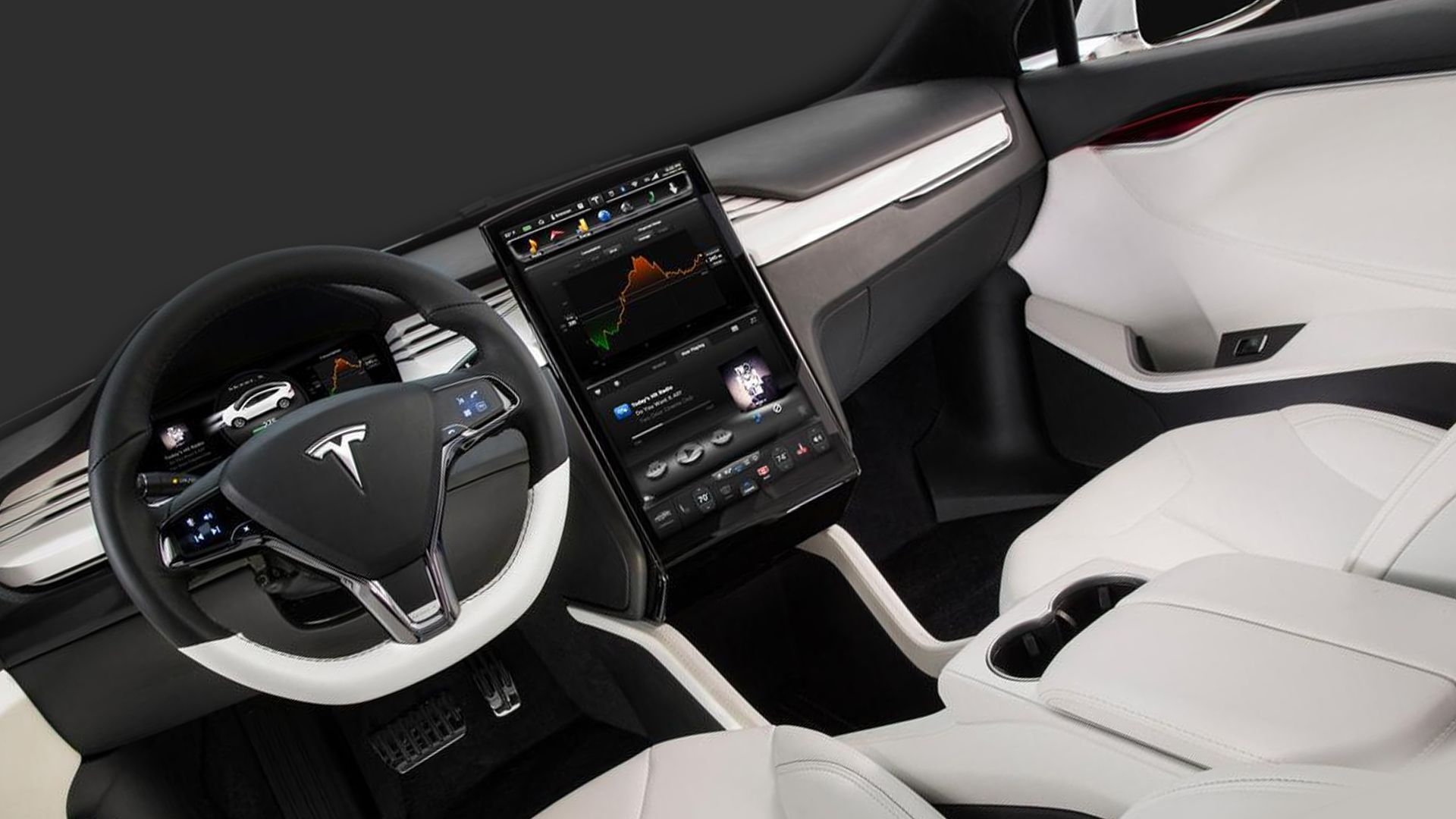 New 2018 Tesla Model X Interior Design