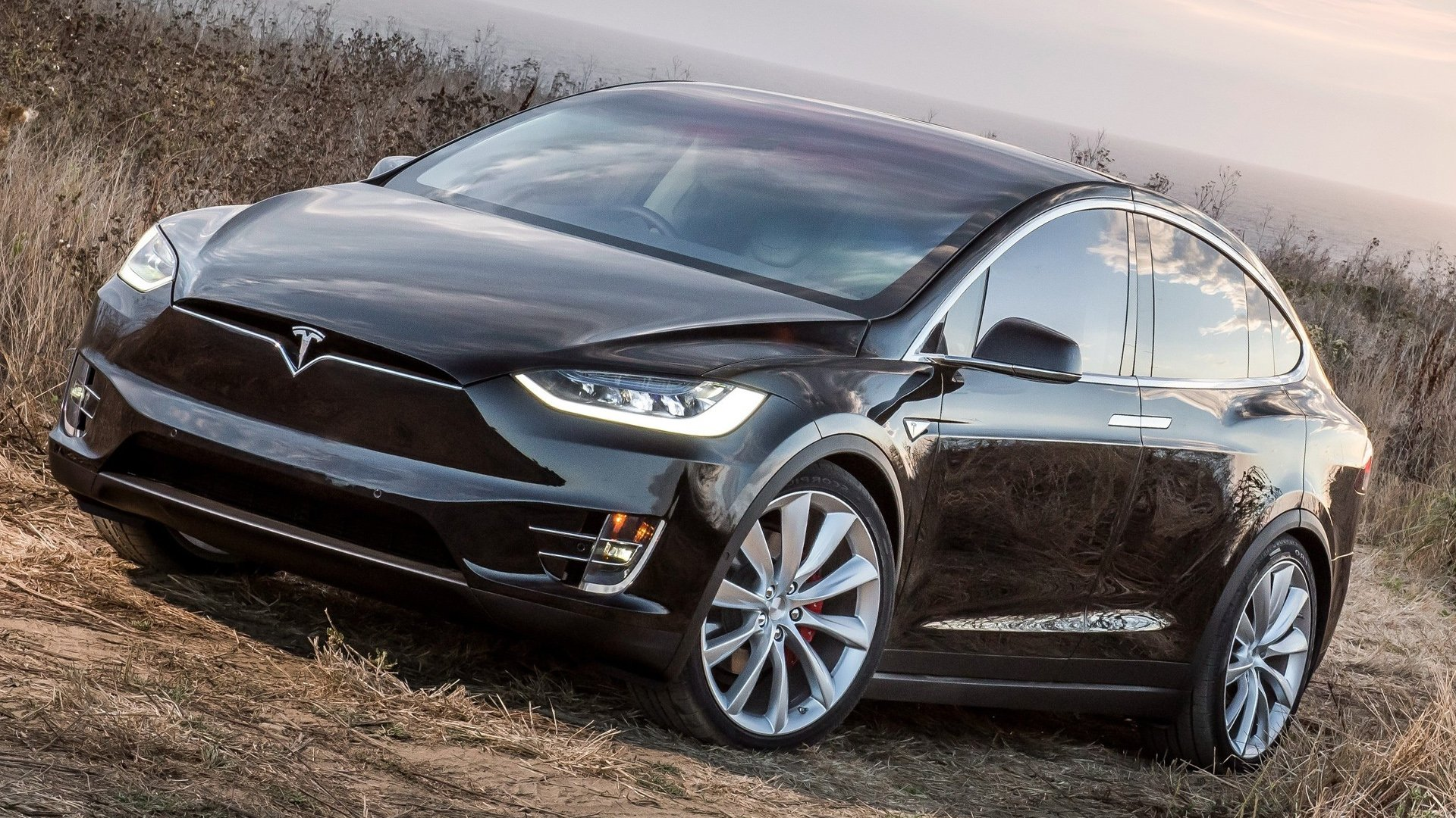 Black 2019 Tesla Model X HD