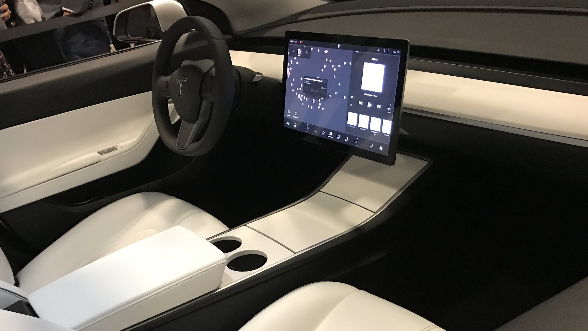 Tesla Model 3 Dashboard HD