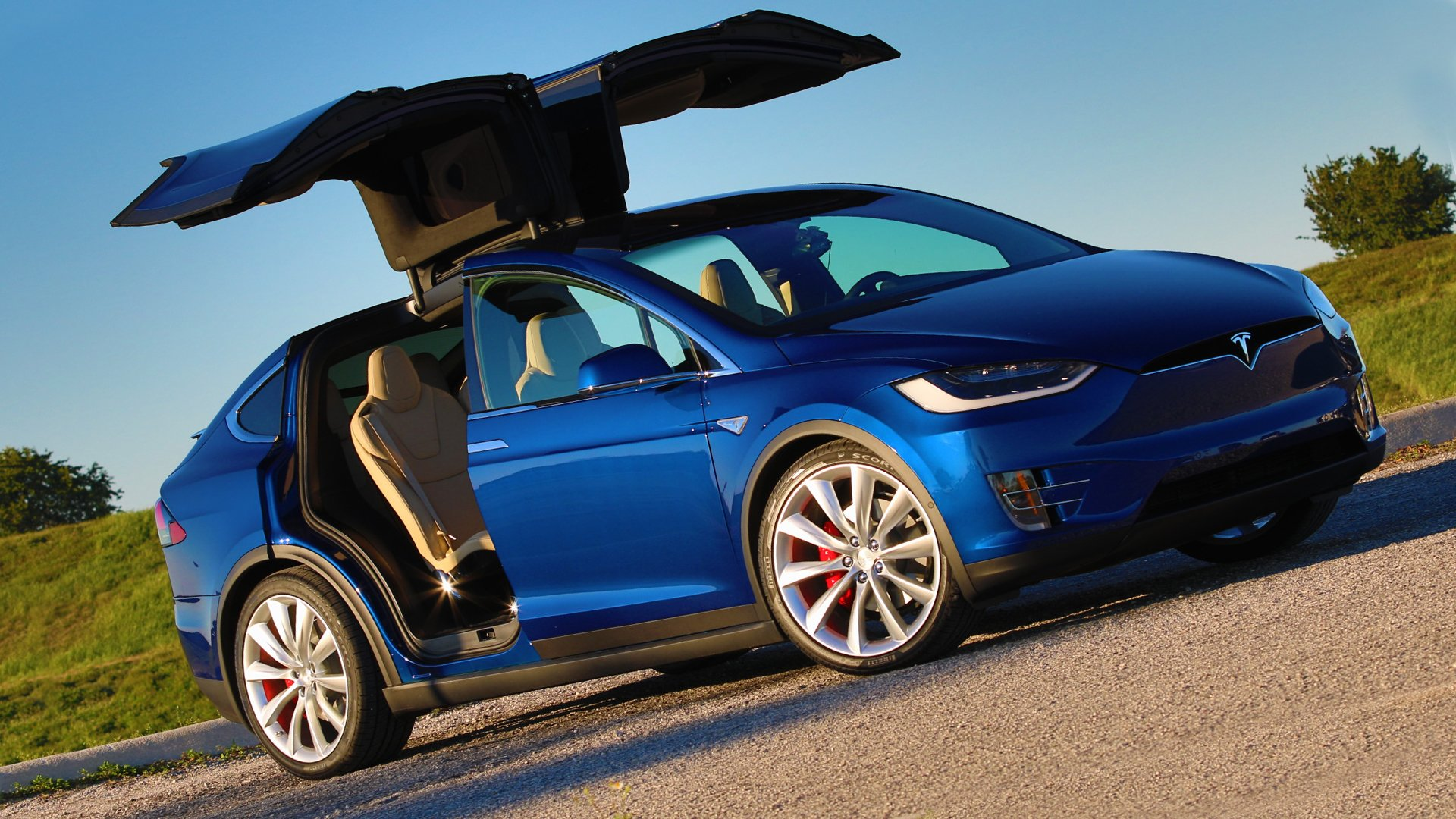 Tesla Model X Changes Redesign HD