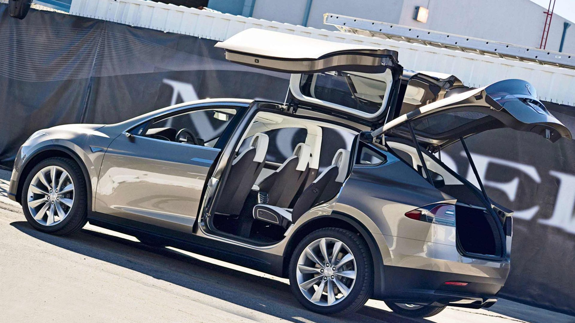 Tesla Model X USA Market HD
