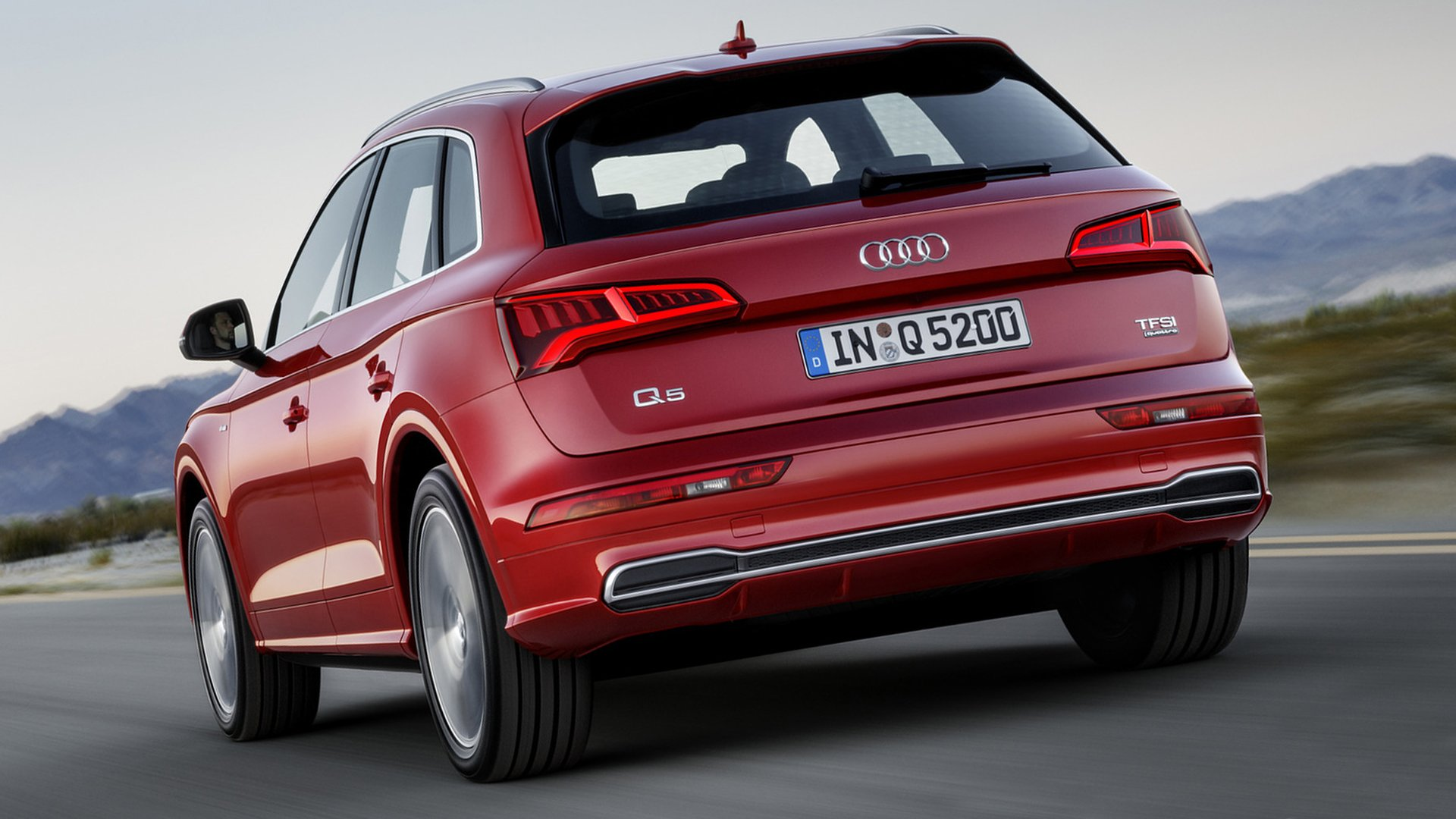 2018 Audi Q5 Back View HD