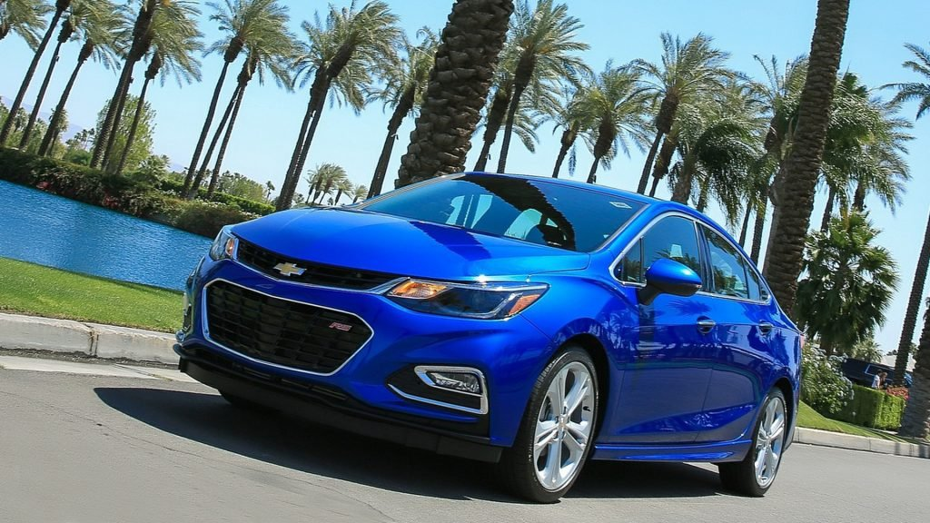 2018 Chevrolet Cruze Front View Full HD