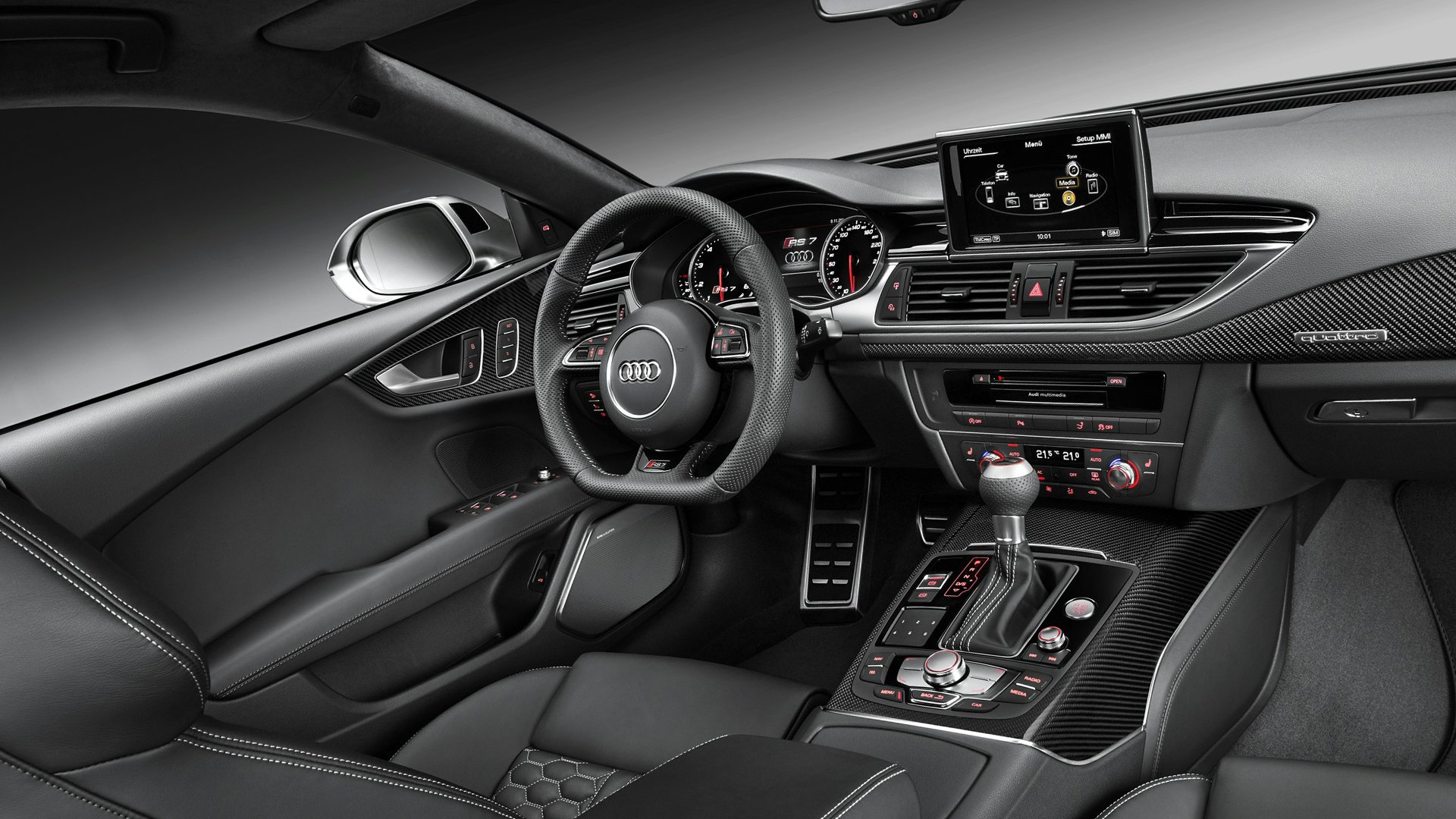 2018 Interior Photos Audi RS7 HD