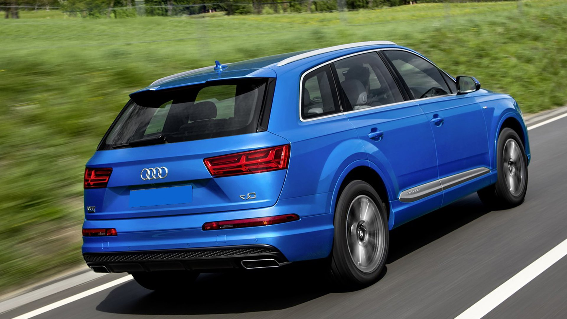 New Review 2019 Audi Q7 Test Drive On Road