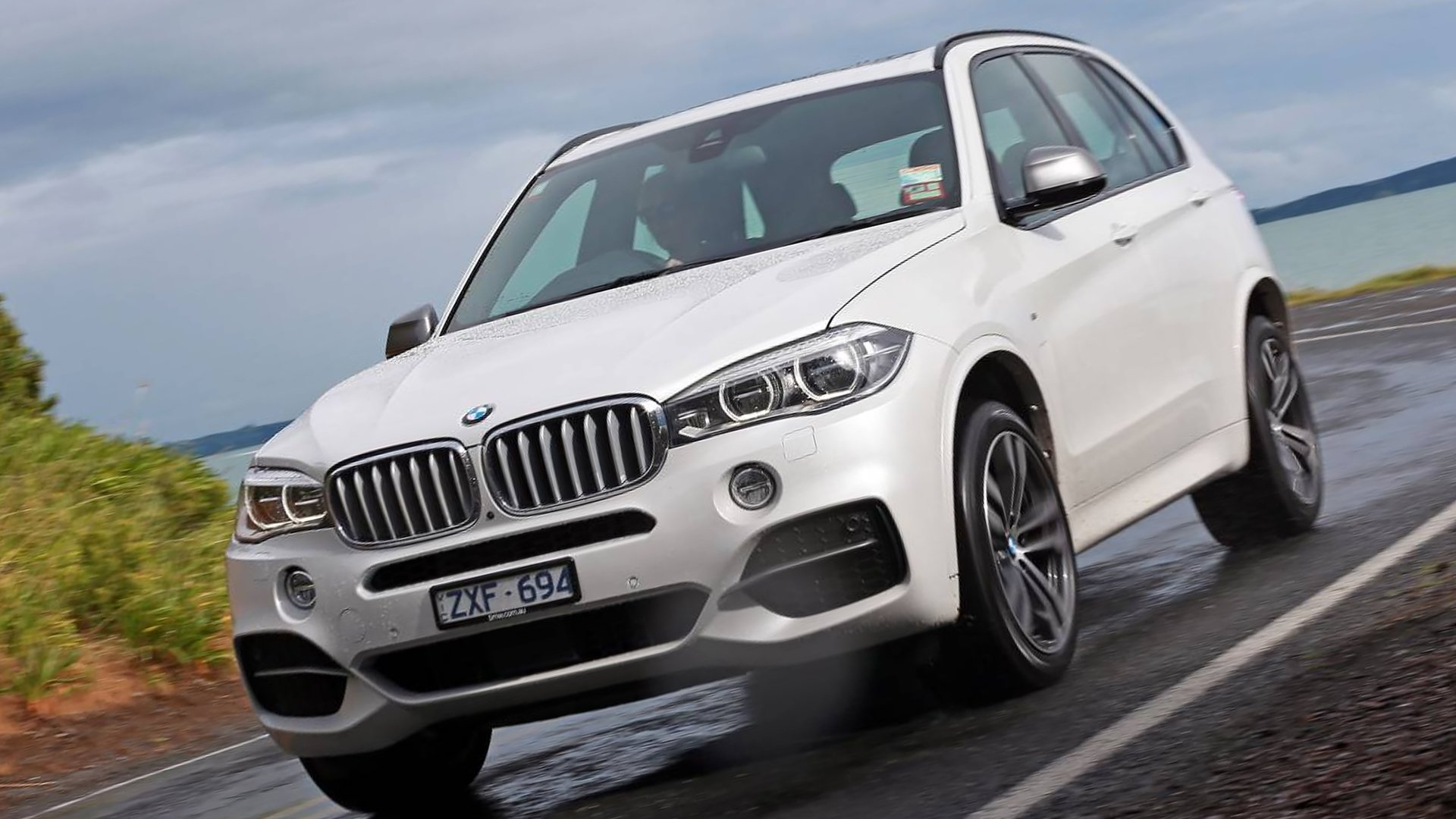 2019 BMW X5 White HD