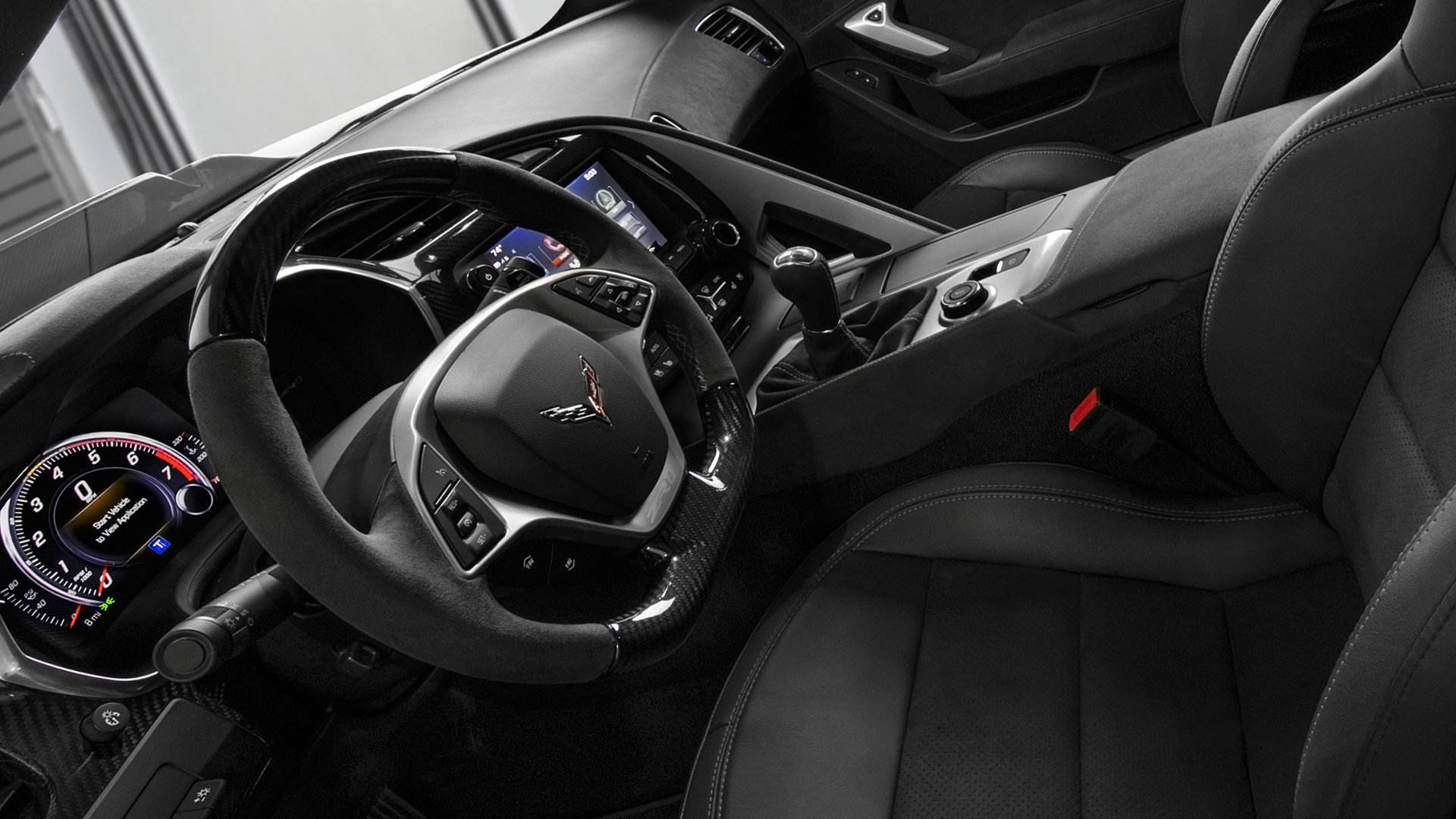2019 Chevrolet Corvette Dashboard HD