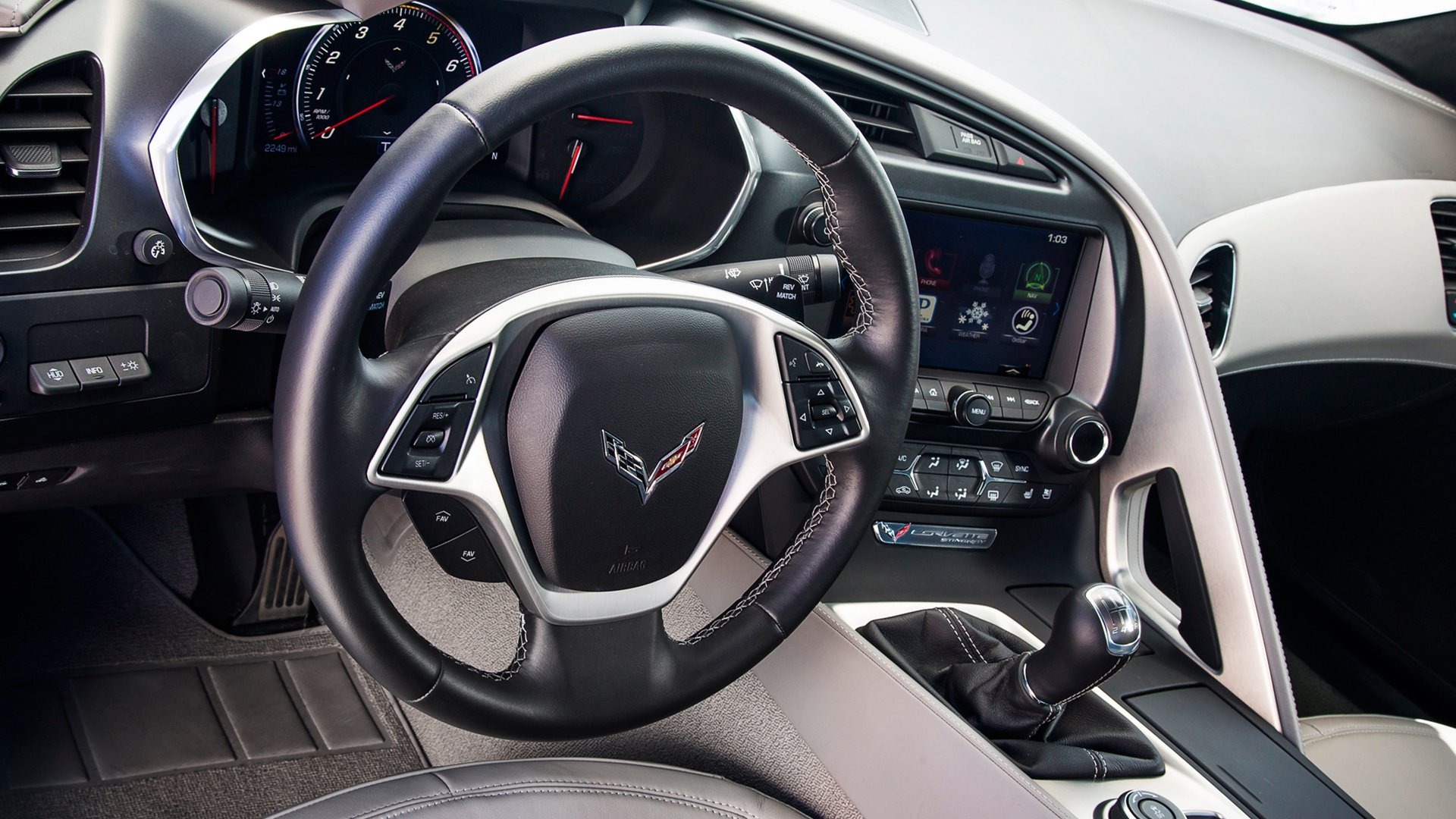 New 2019 Chevrolet Corvette Interior Design