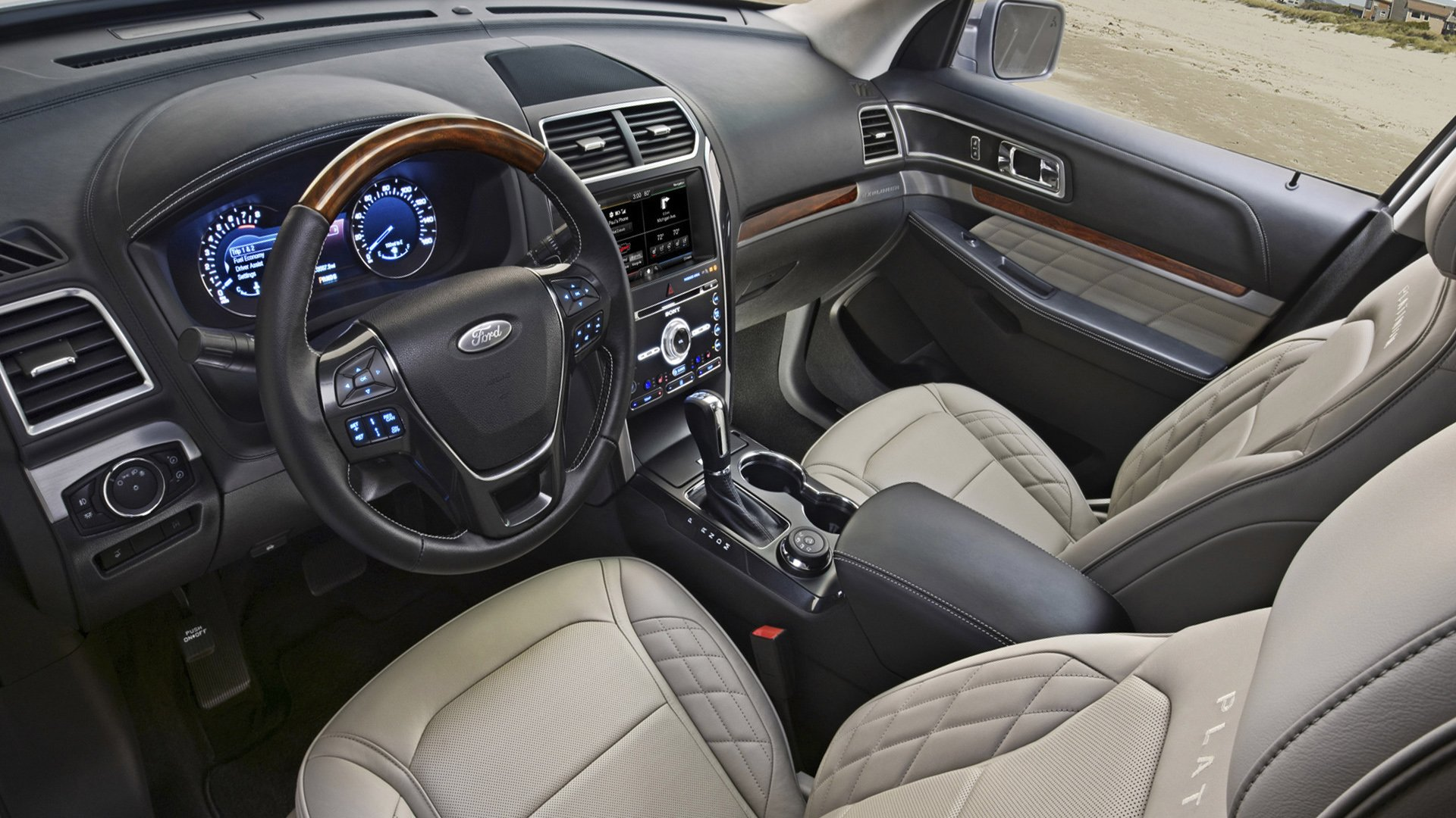 New 2019 Ford Explorer Interior Design
