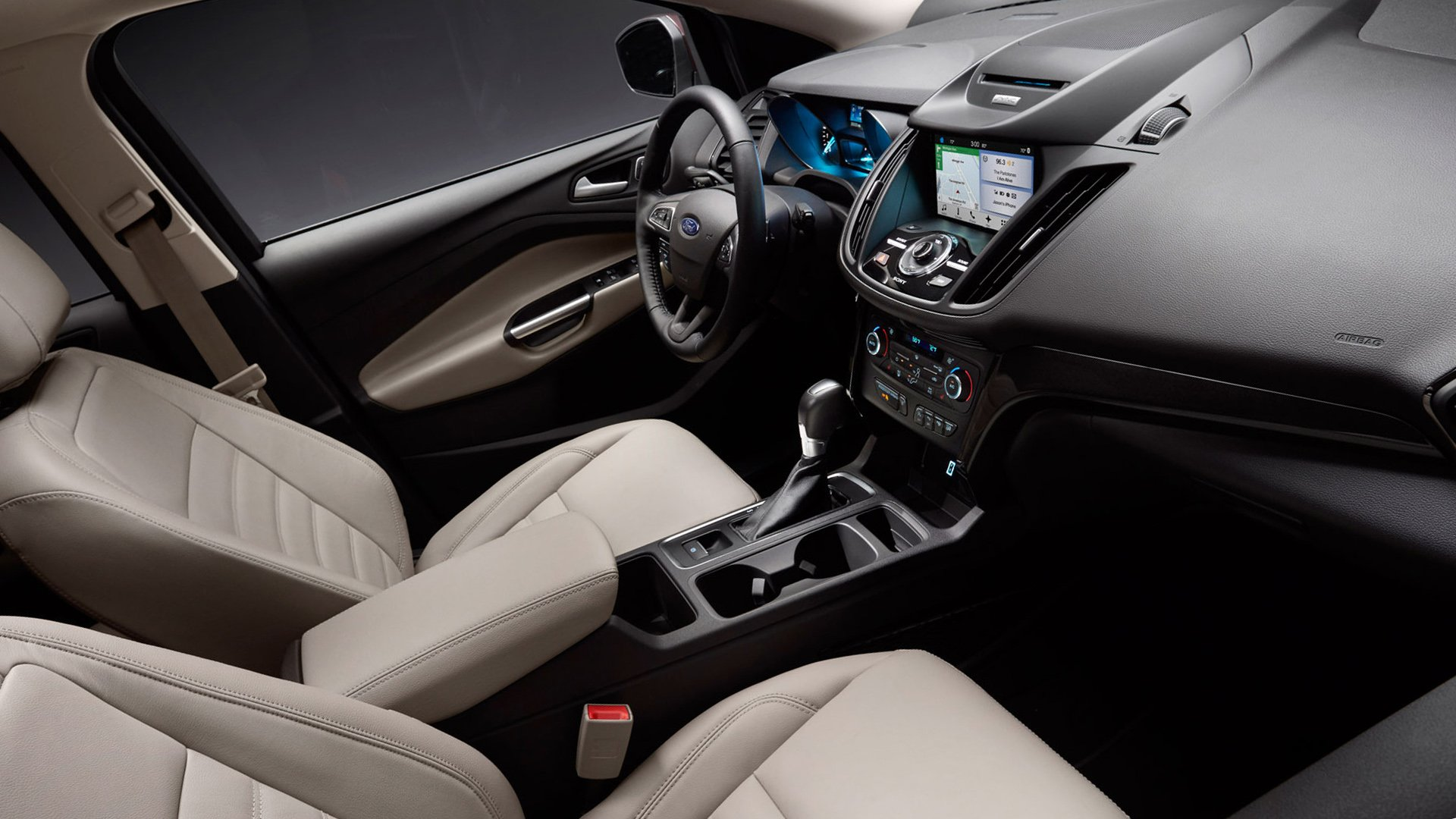 New 2019 Ford Kuga Interior Design