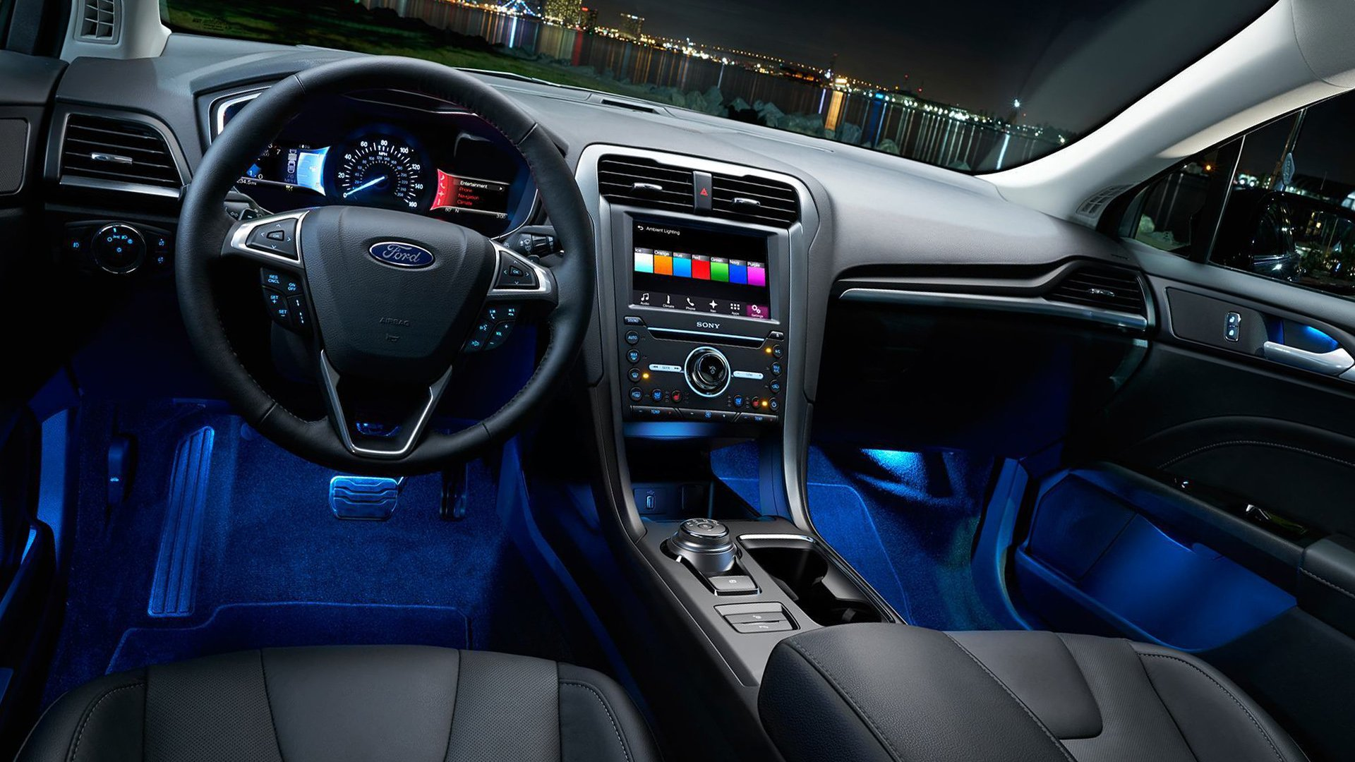 New 2019 Ford Mondeo Interior Design