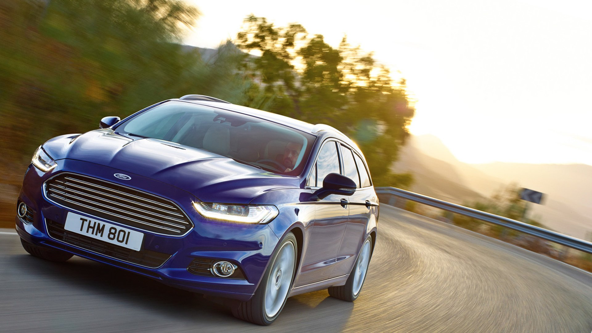 New 2019 Ford Mondeo Test Drive On Road