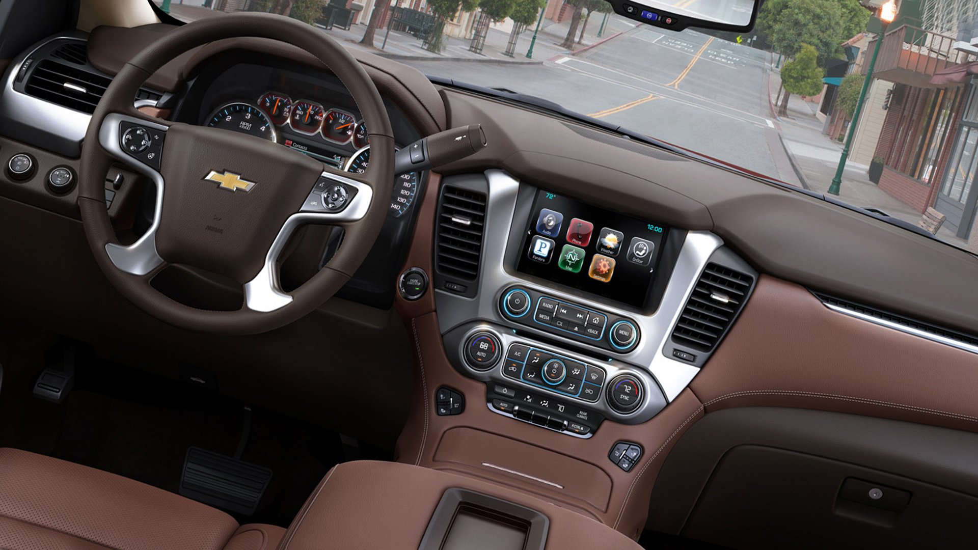 2019 Interior Photos Chevrolet Tahoe HD