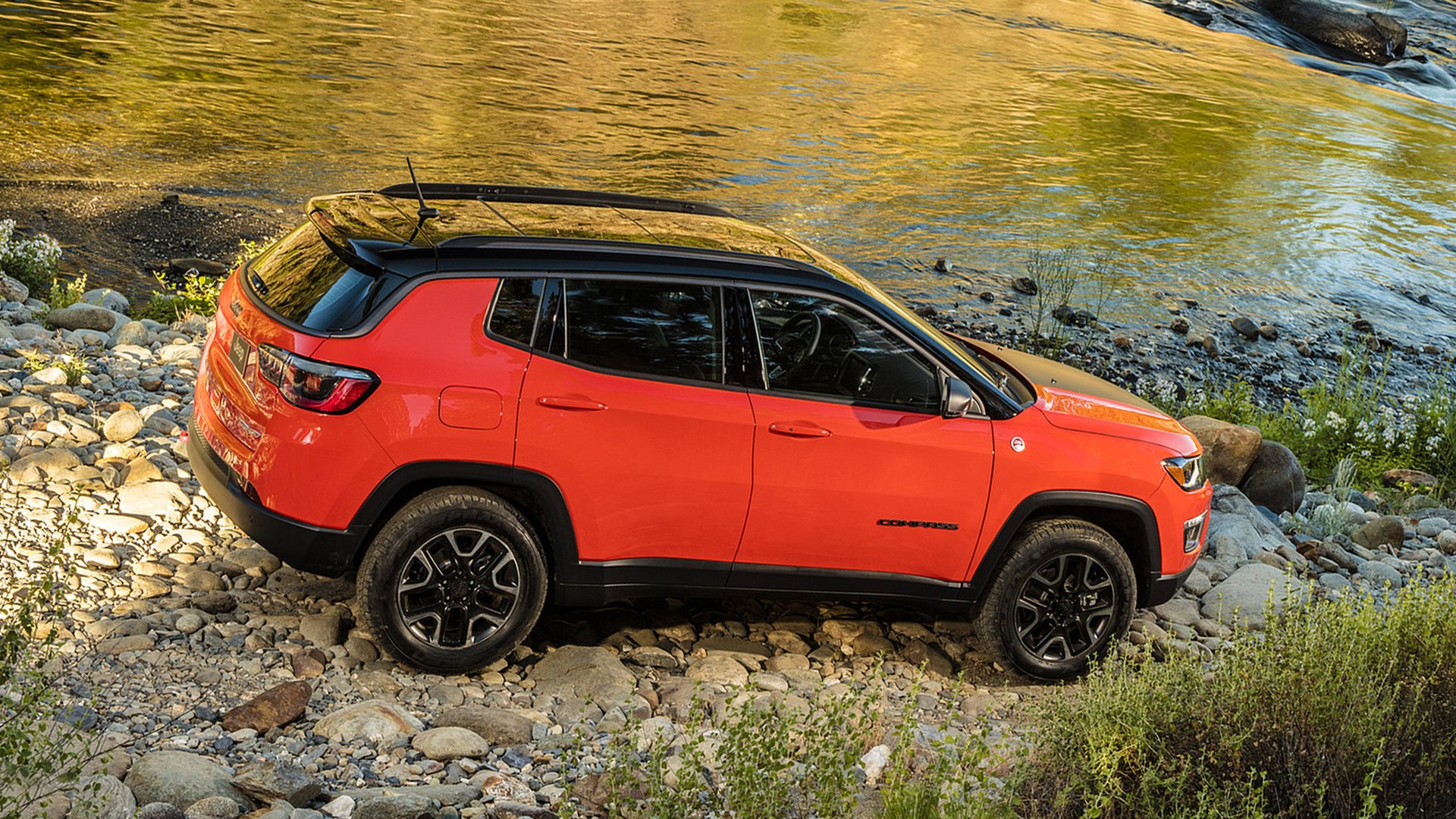 2019 Jeep Compass Crossover SUV HD