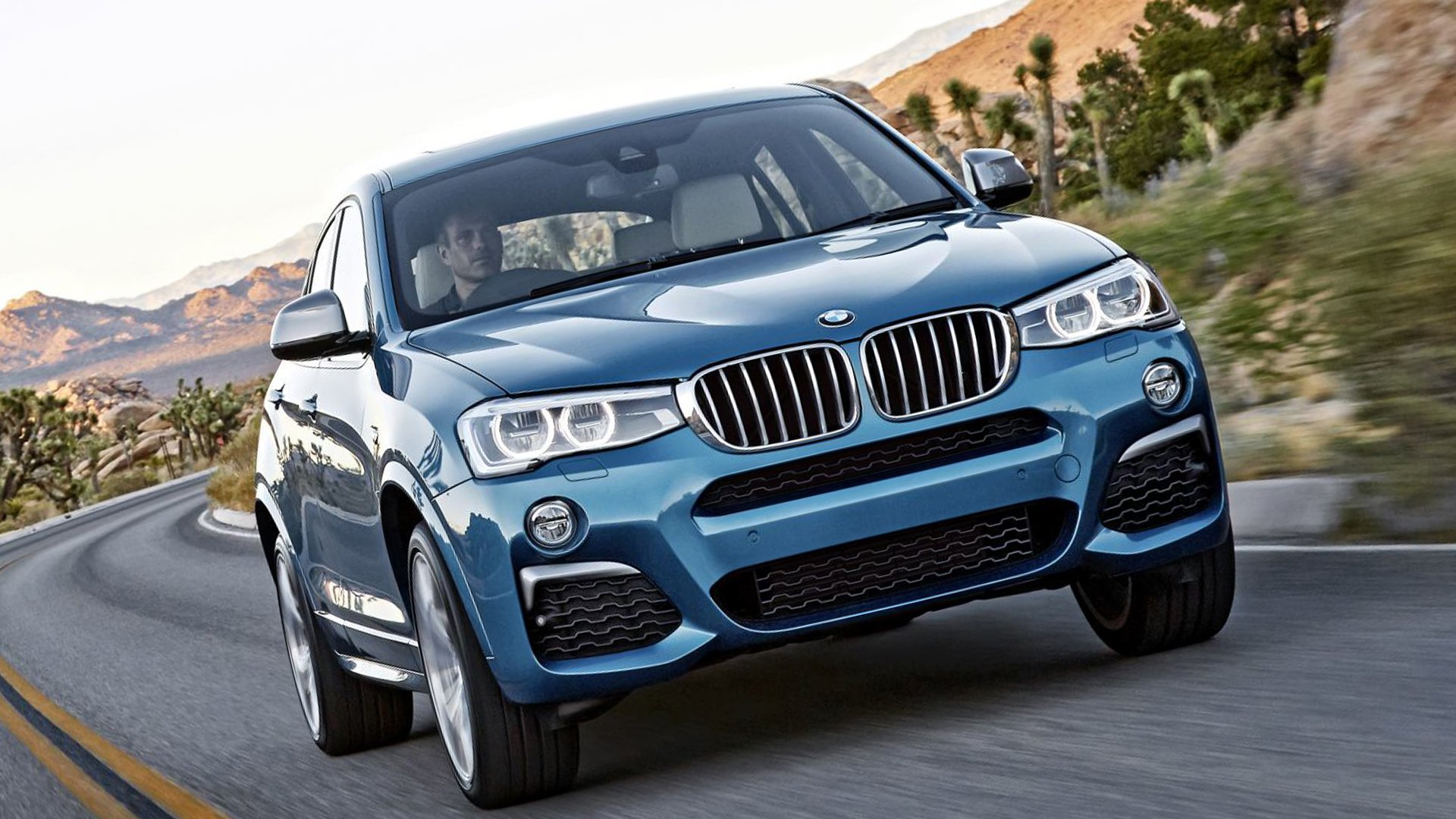 BMW X4 M40i Model V8 Full HD