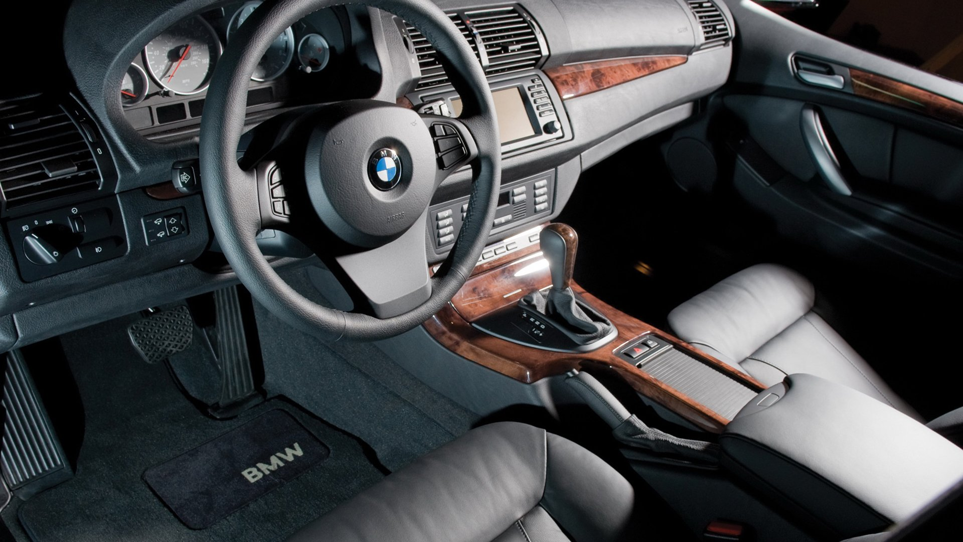 BMW X5 Interior Model HD