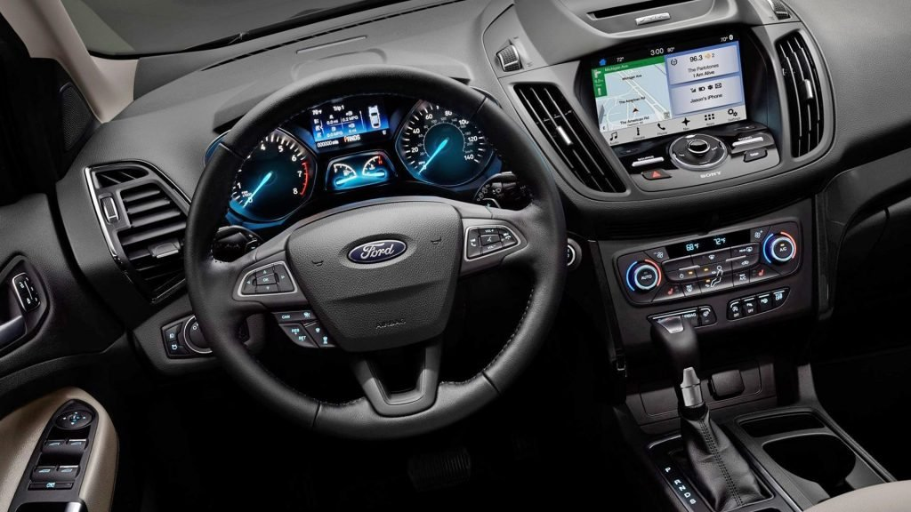 Interior Pictures 2019 Ford Kuga HD