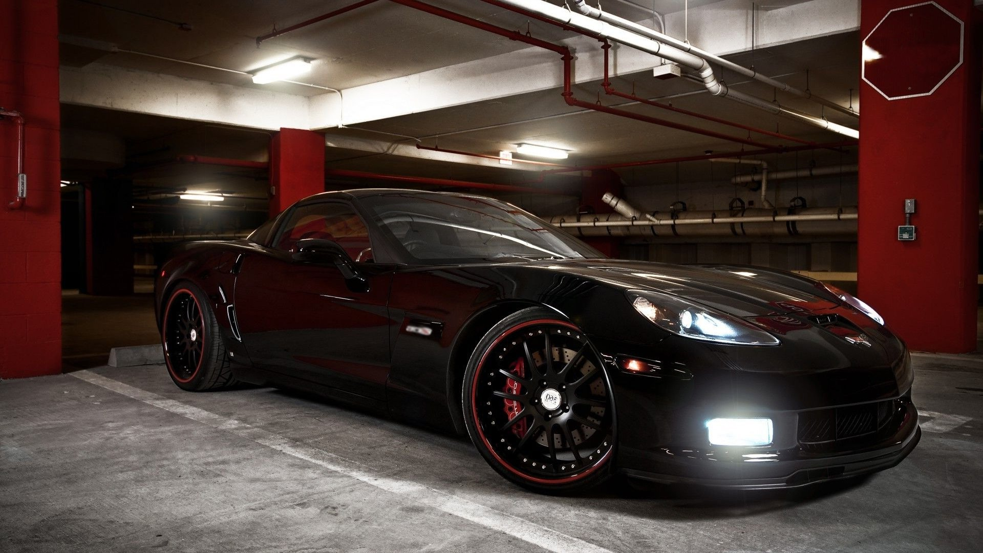 Lights Wallpaper Chevrolet Corvette HD