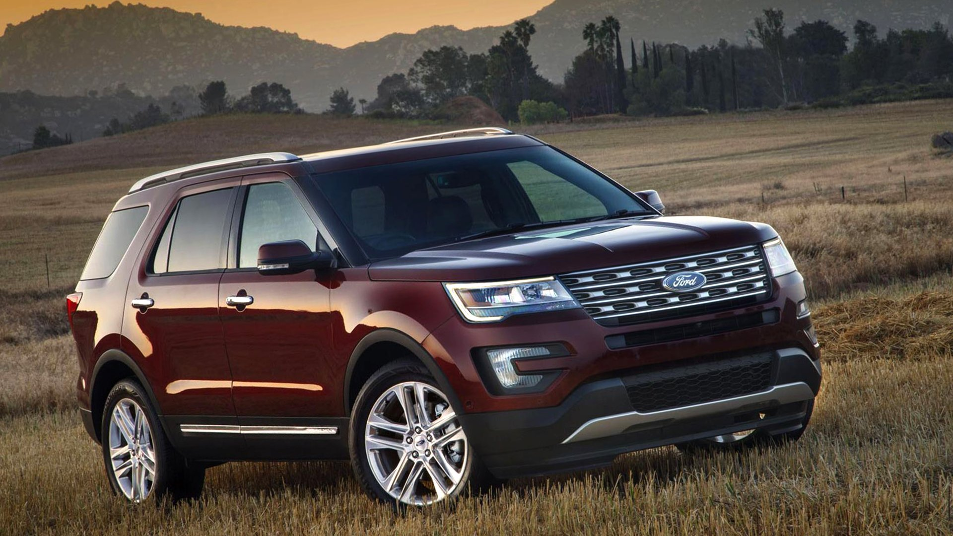 Model Redesign Ford Explorer HD