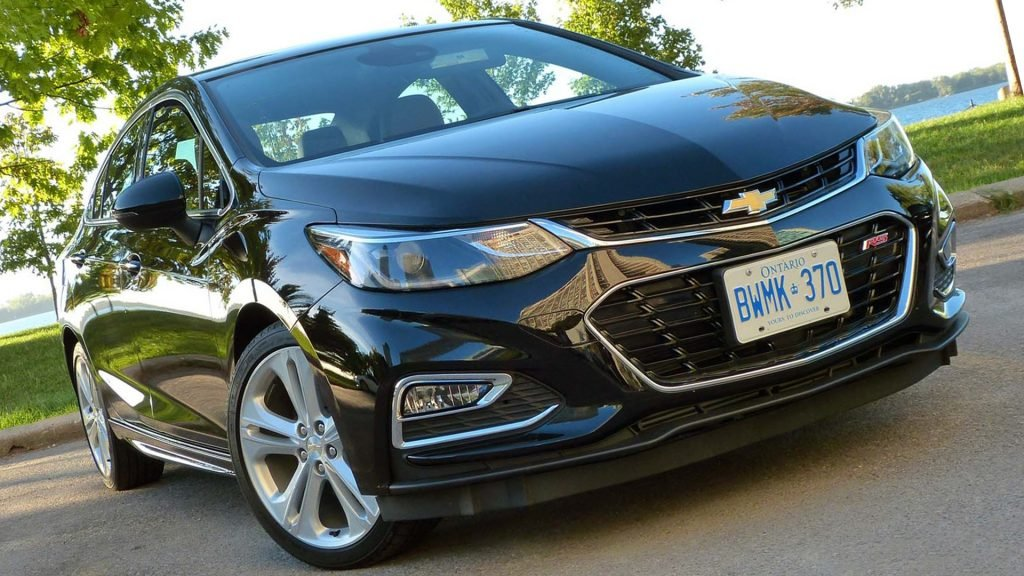 Sedan Model Chevrolet Cruze Full HD