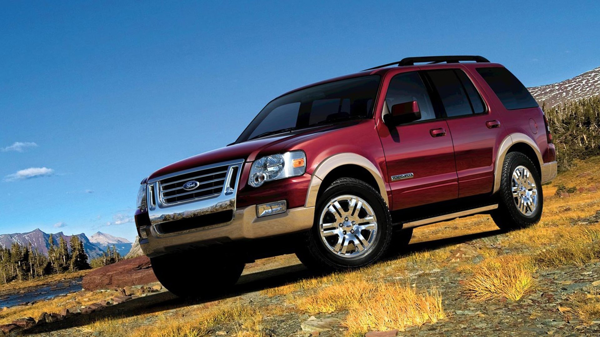 Turbo V8 Ford Explorer HD