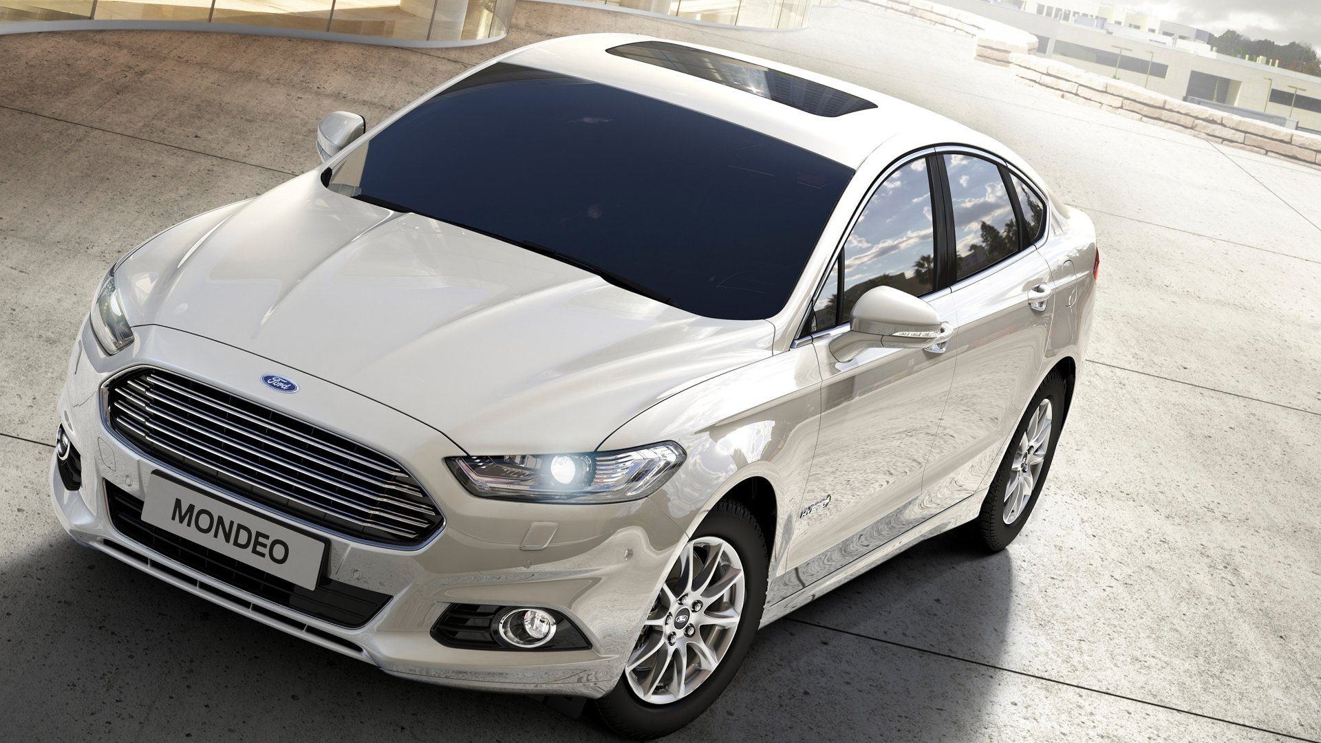 V6 Engine Ford Mondeo Full HD