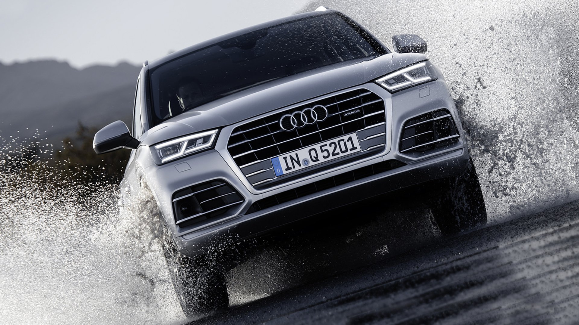 Wallpaper Andriod iPhone Audi Q5 HD