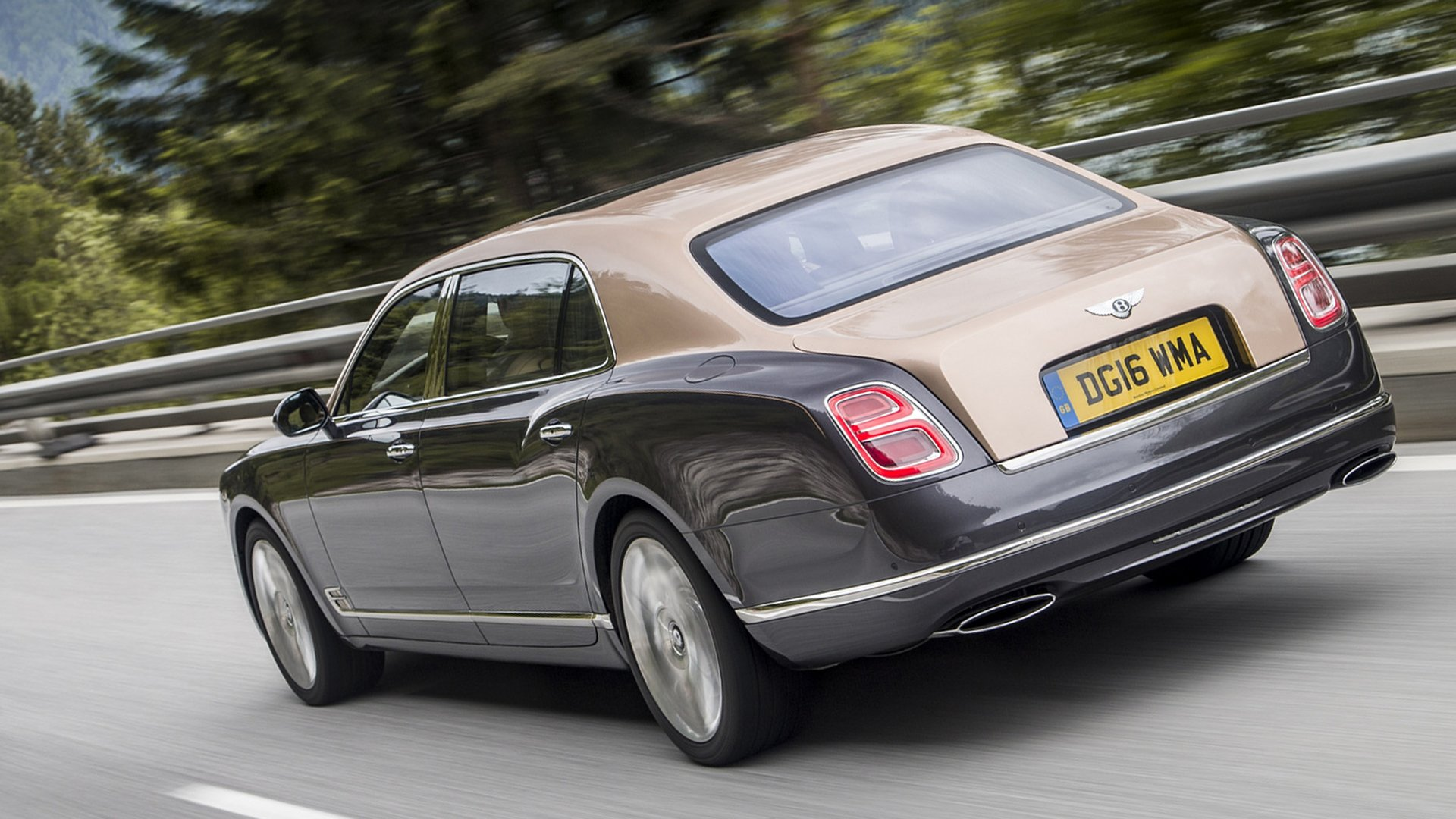 2018 Bentley Mulsanne V8 Engine Full HD