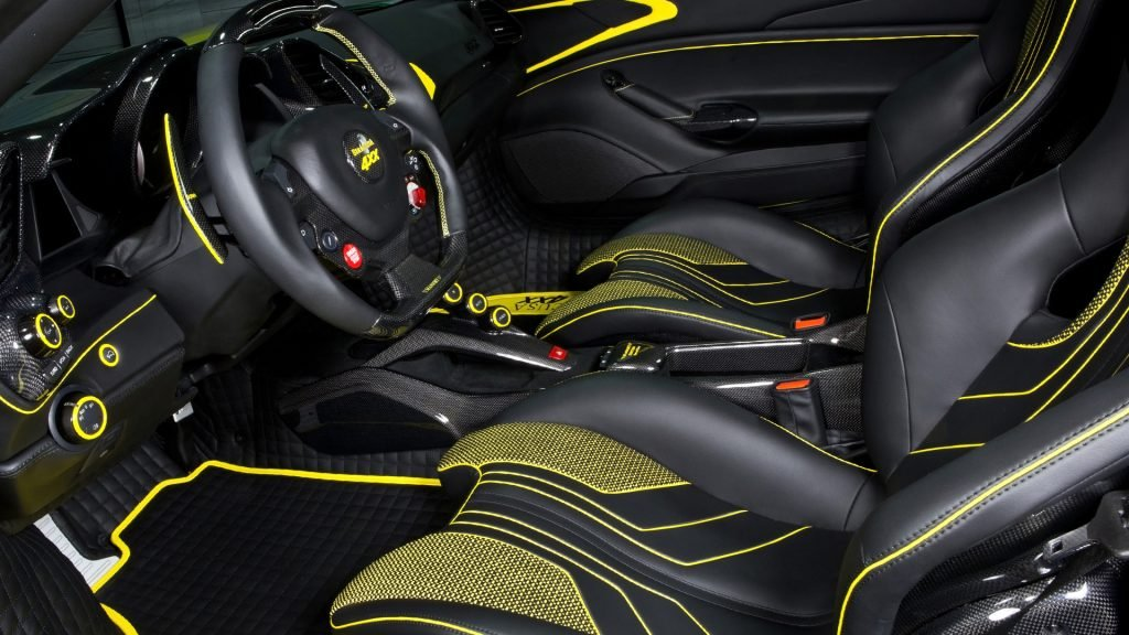 New 2019 Ferrari 488 GTB Interior Design