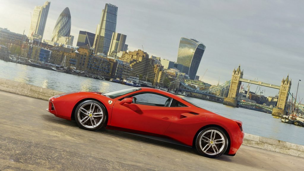 New 2019 Ferrari 488 GTB Wallpaper HD Desktop