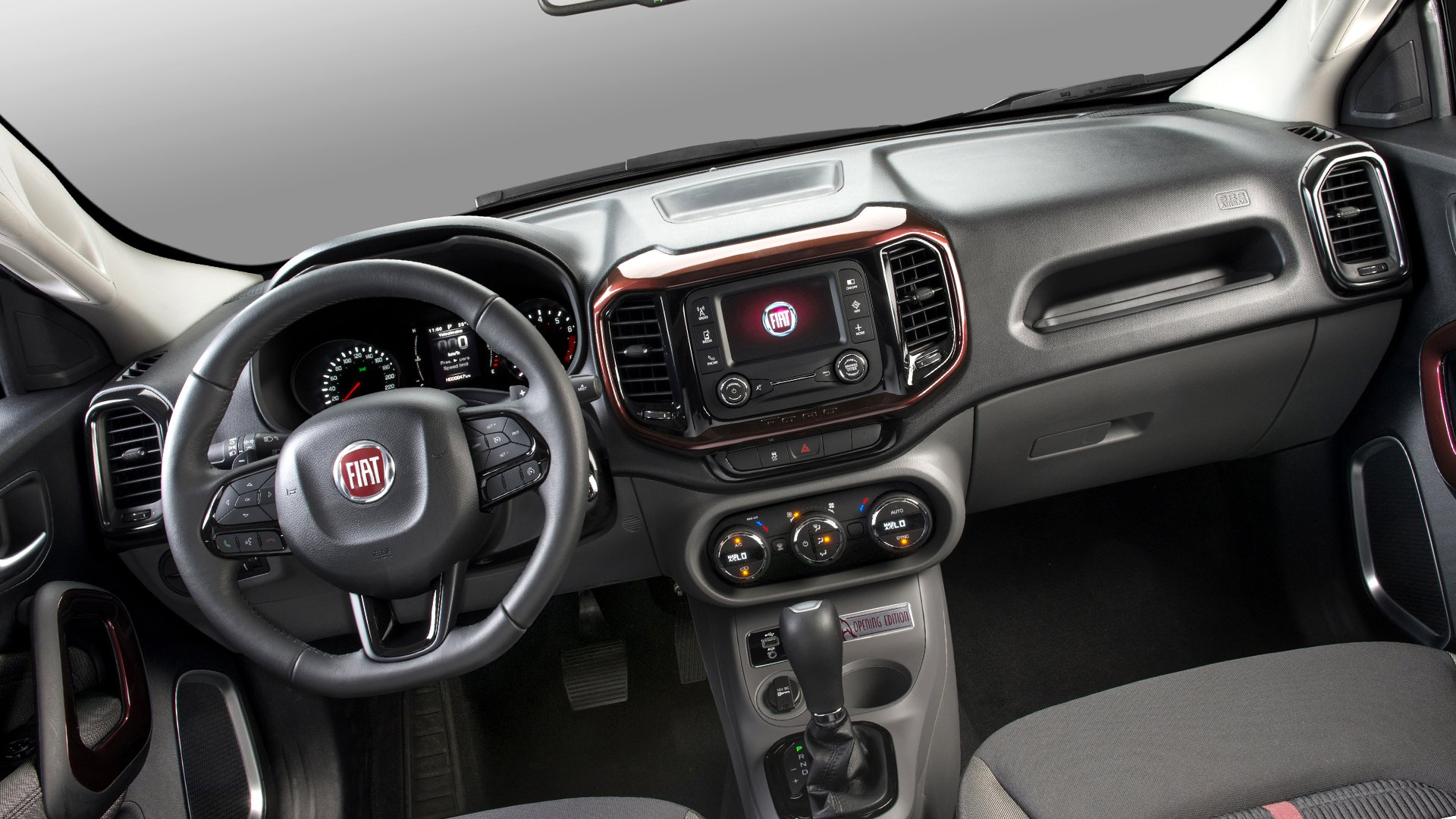 New 2019 Fiat Toro Interior Design