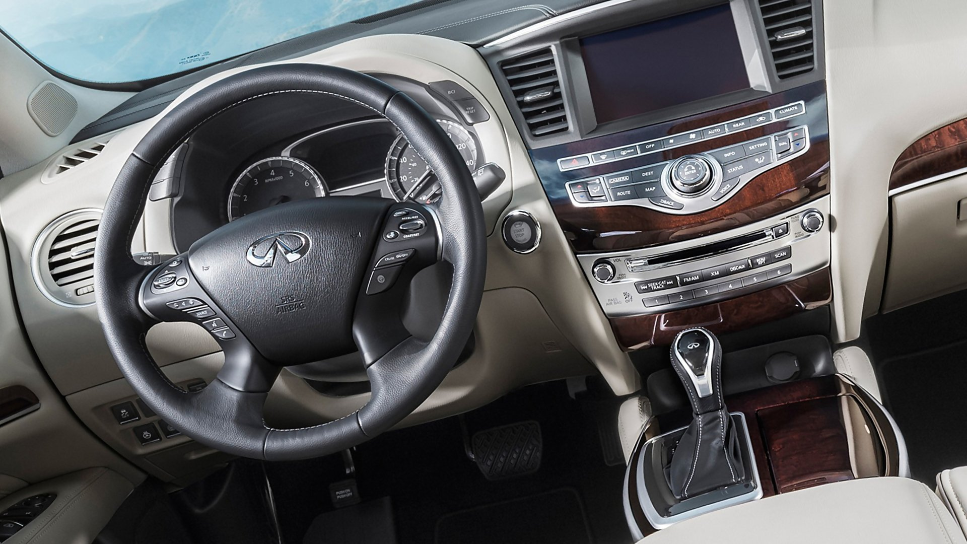 New 2019 Infiniti QX60 Interior Design