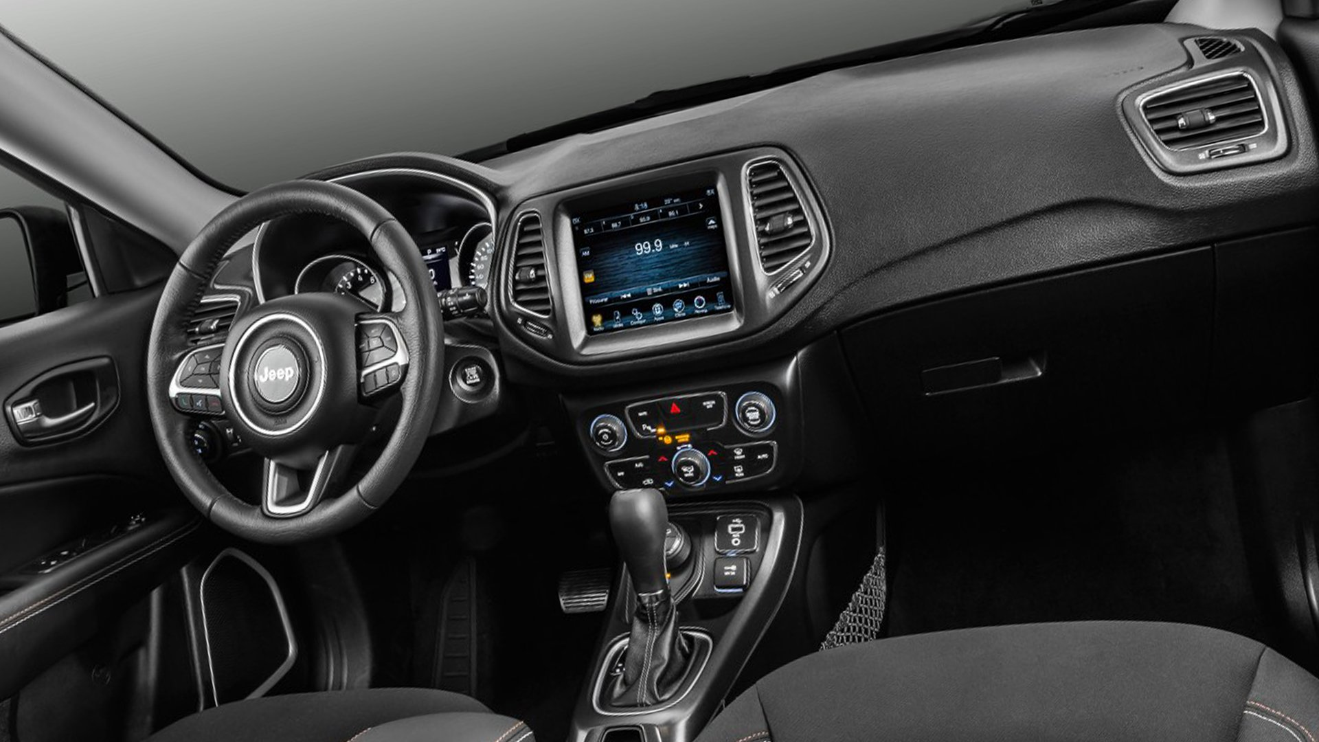 New 2019 Jeep Compass Interior Design