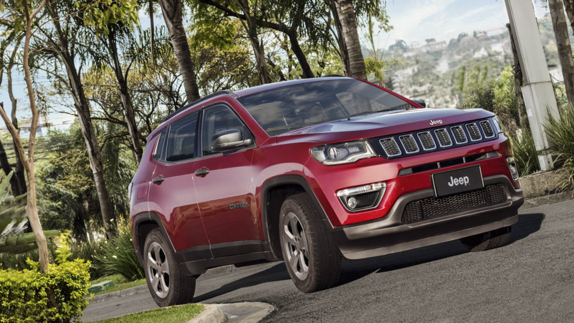 New 2019 Jeep Compass Test Drive On Road