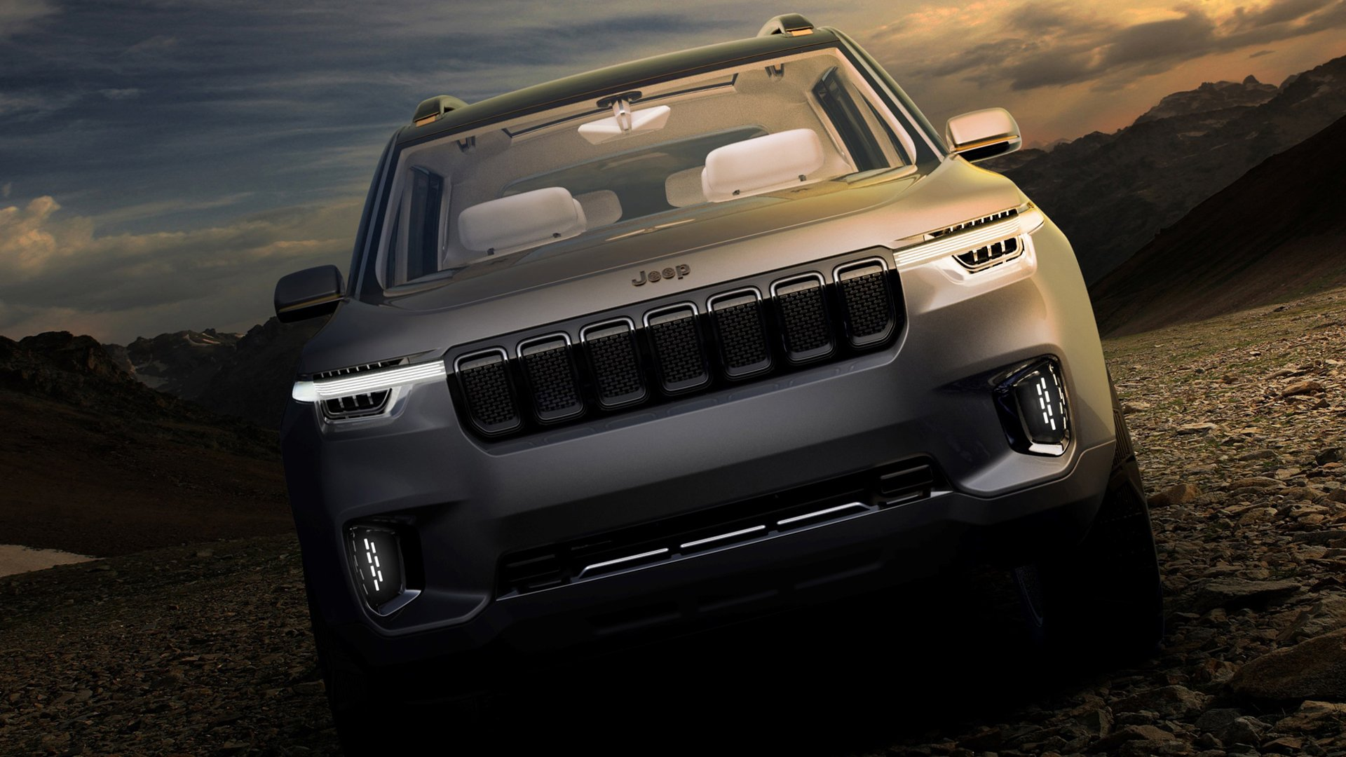 New 2019 Jeep Yuntu Wallpaper