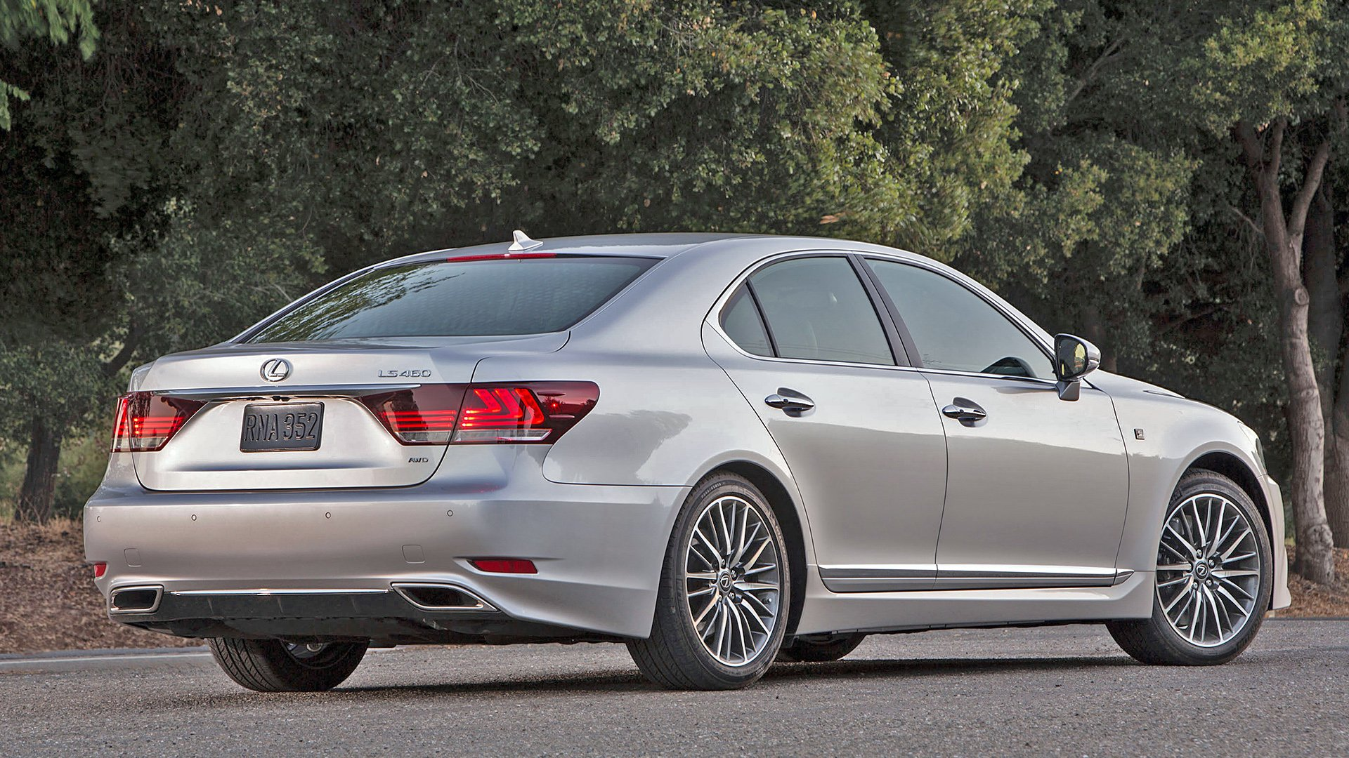 New 2019 Lexus LS 460 Exterior Changes