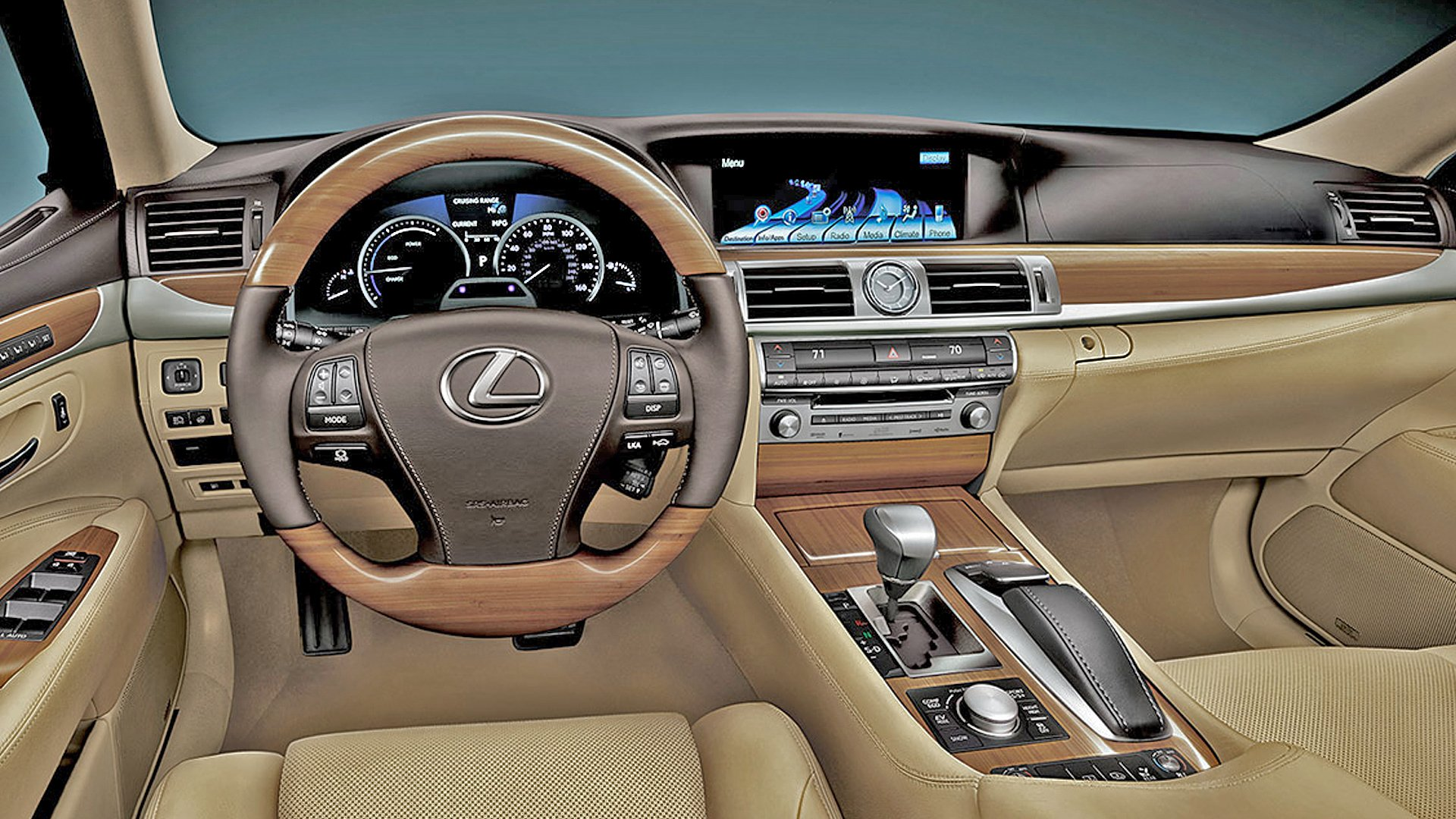 New 2019 Lexus LS 460 Interior Design