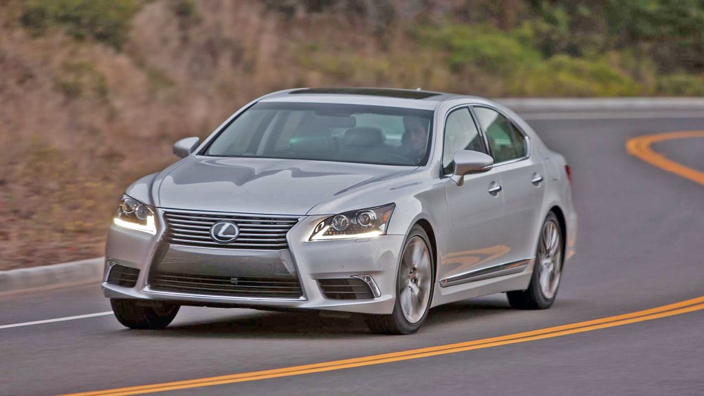 New 2019 Lexus LS 460 Test Drive On Road