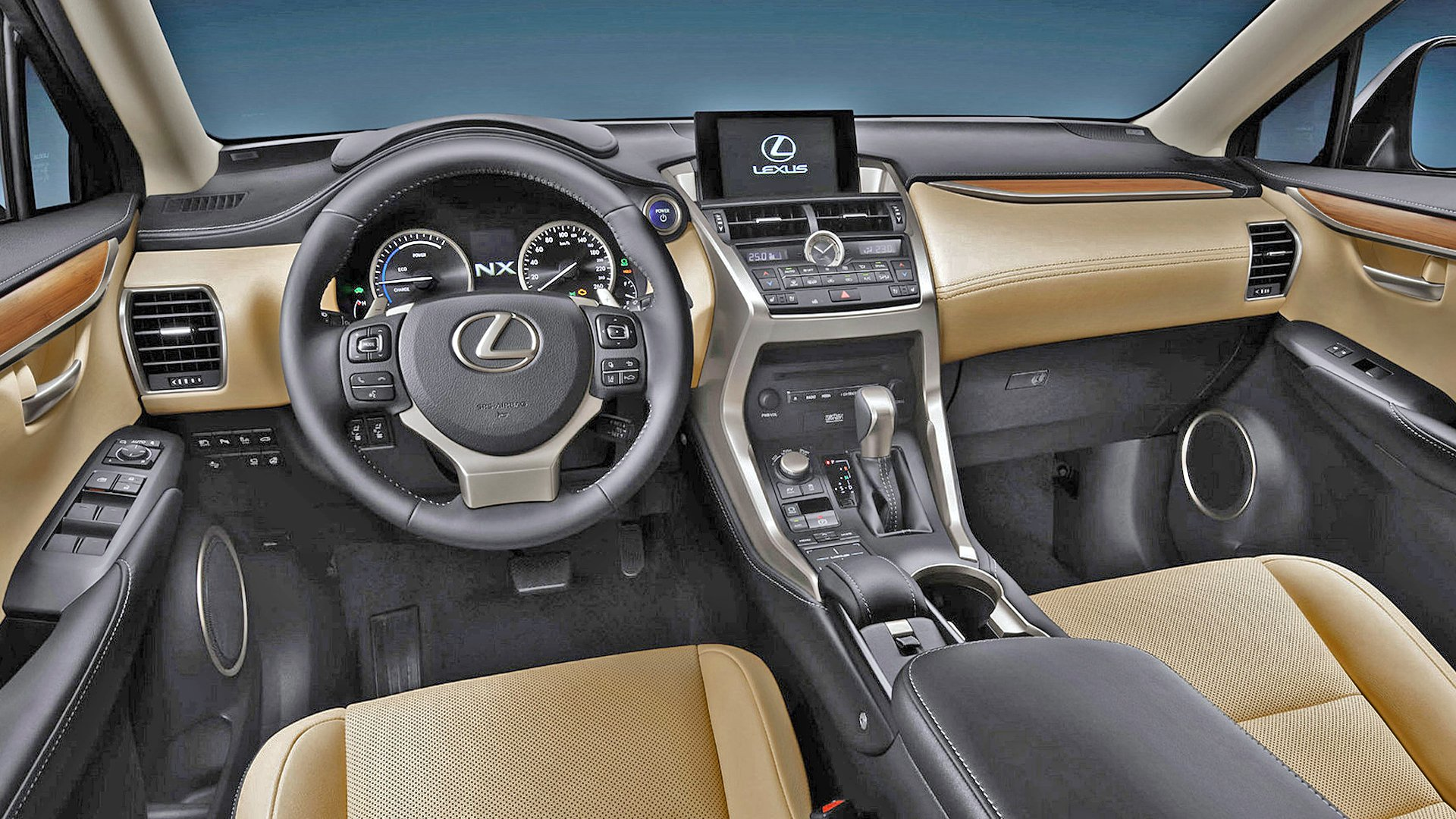 New 2019 Lexus NX 200 Interior Design