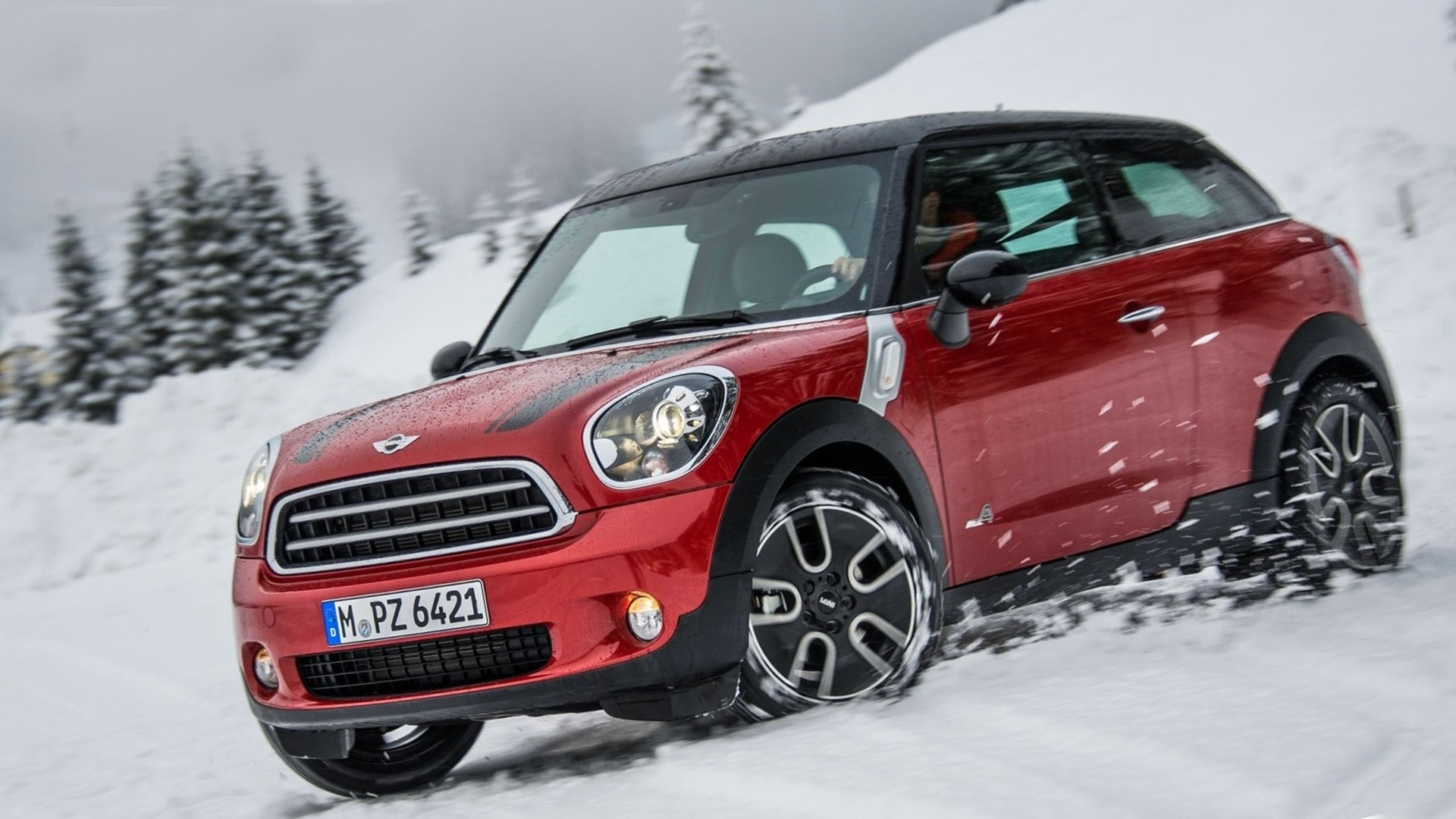 New 2019 MINI Paceman Wallpaper HD Desktop