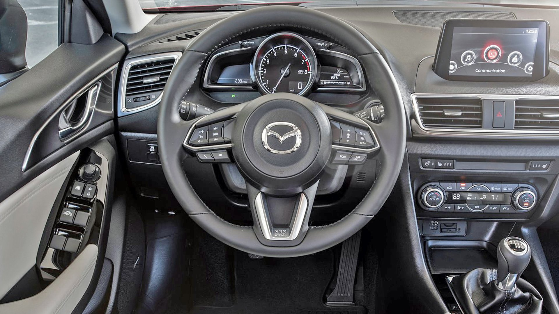 New 2019 Mazda 2 Interior Design