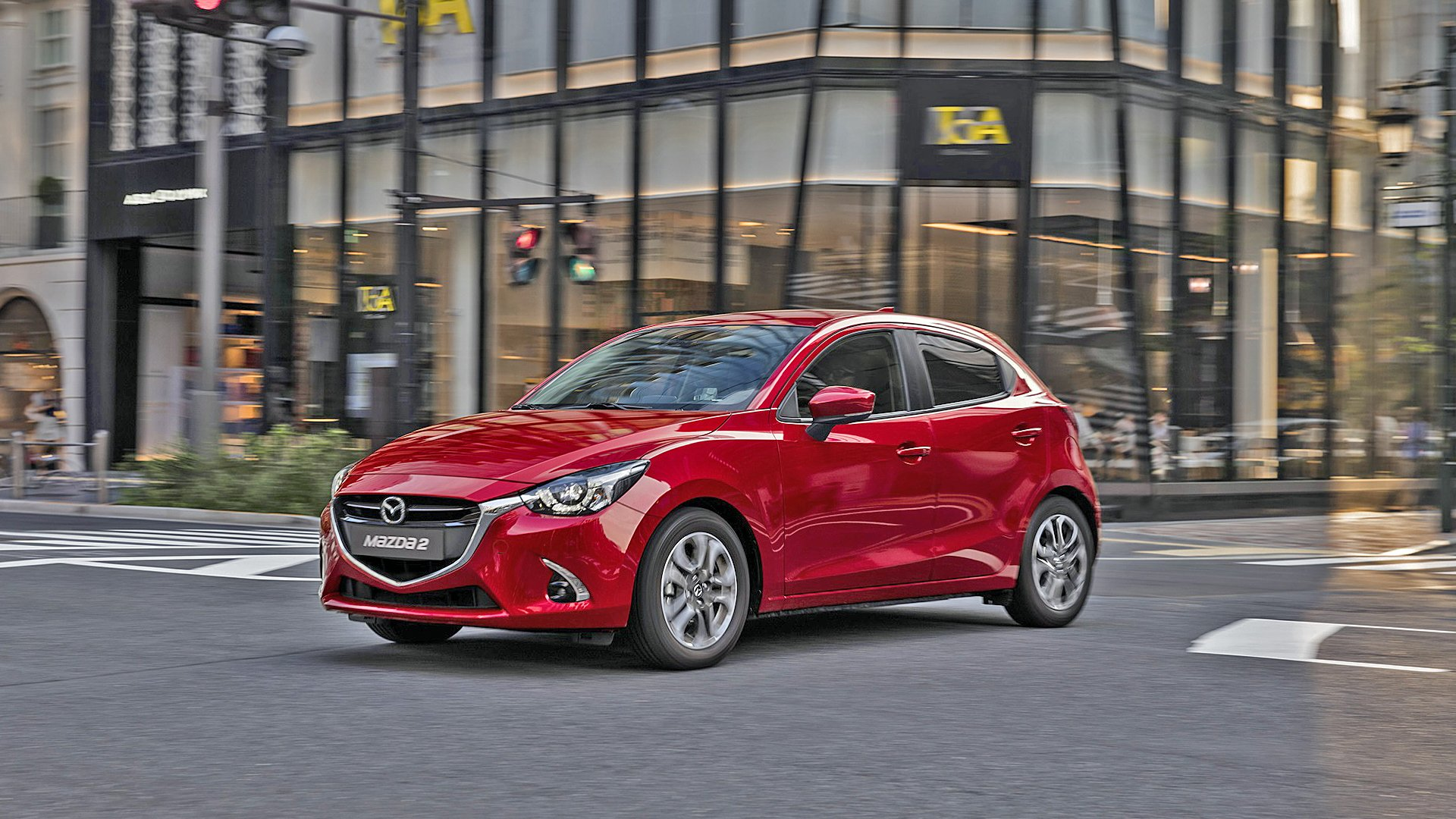 New 2019 Mazda 2 Wallpaper HD Desktop