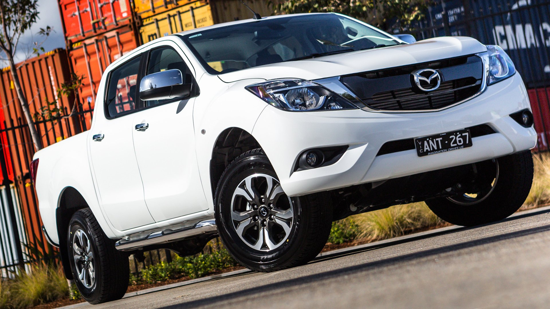 2019 Mazda BT-50 White HD