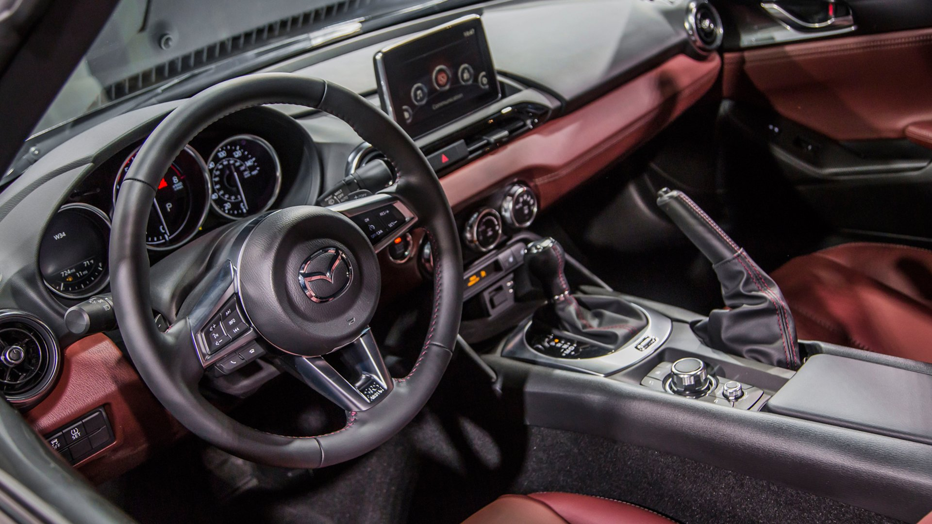 New 2019 Mazda MX 5 Interior Design