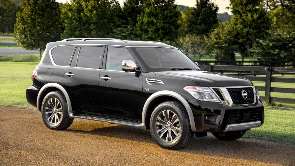 New 2019 Nissan Armada Exterior Changes