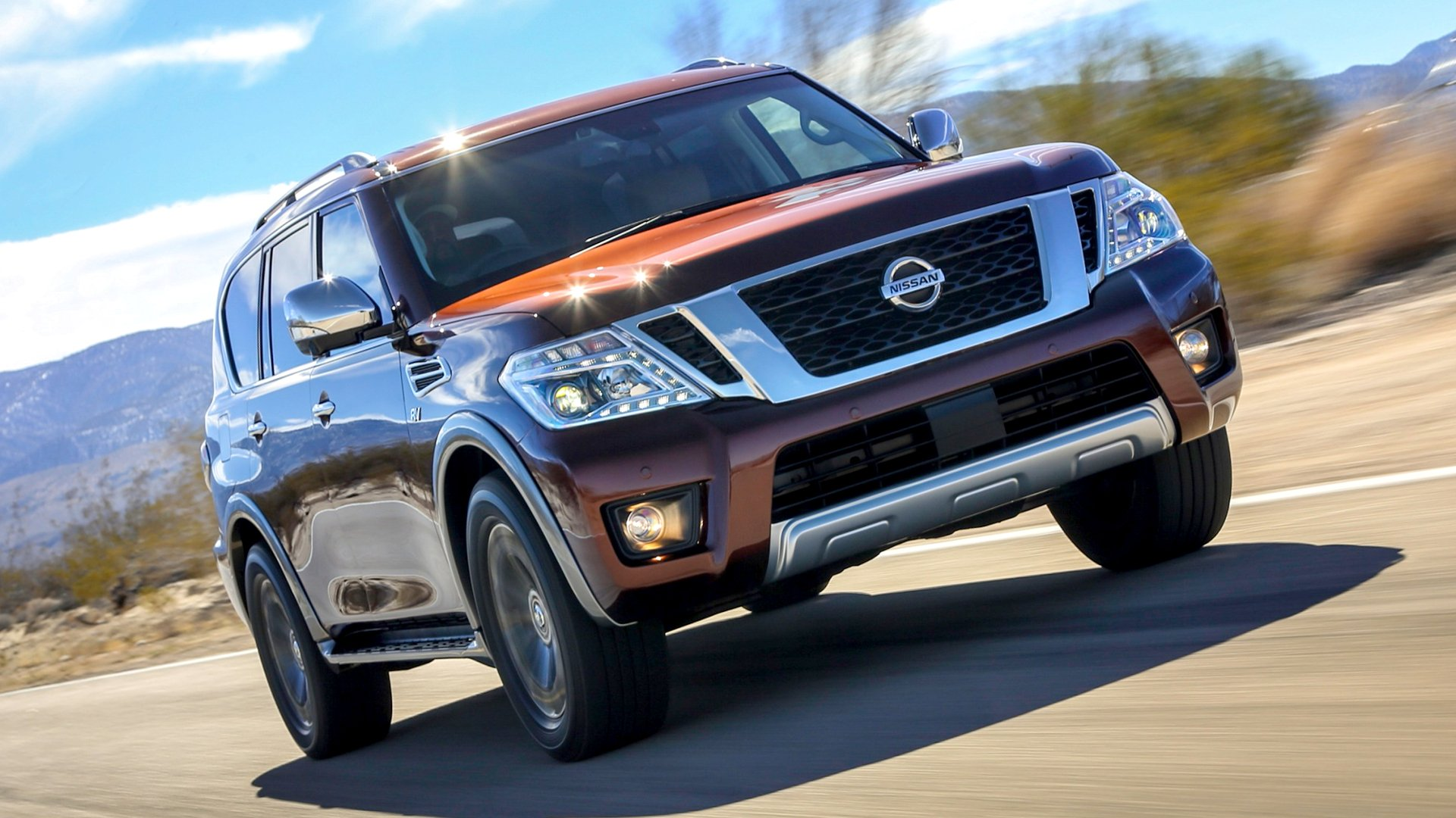 New 2019 Nissan Armada Test Drive On Road