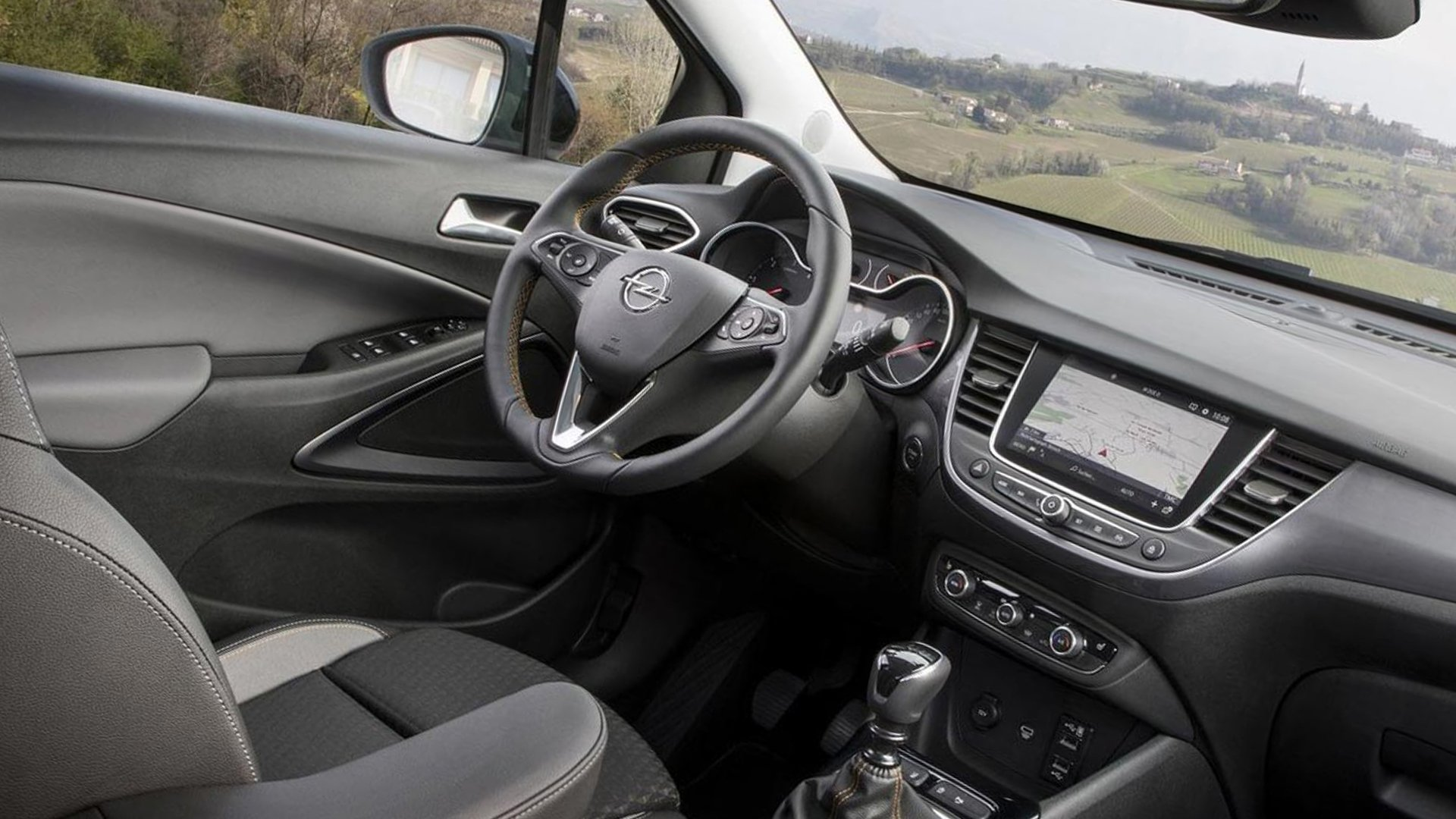 New 2019 Opel Crossland X Interior Design