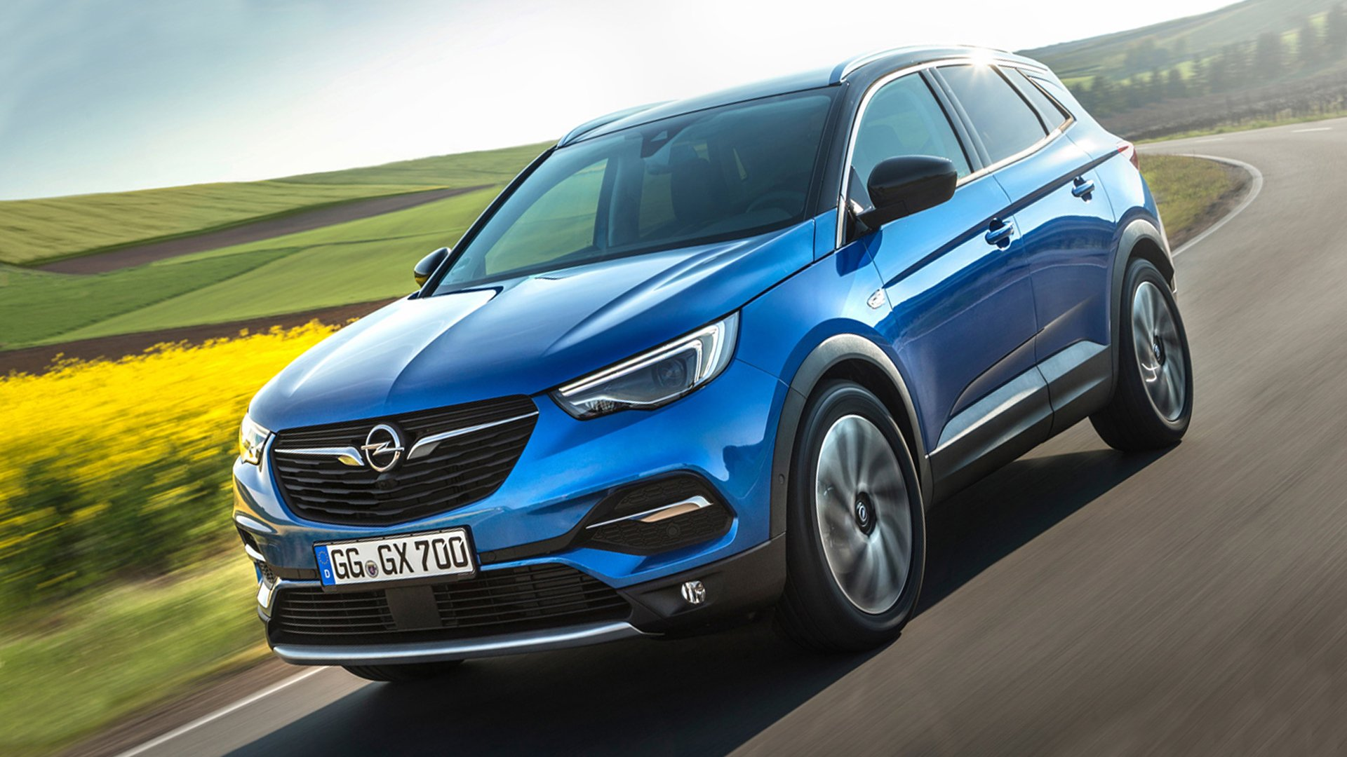 New 2019 Opel Grandland X Test Drive On Road